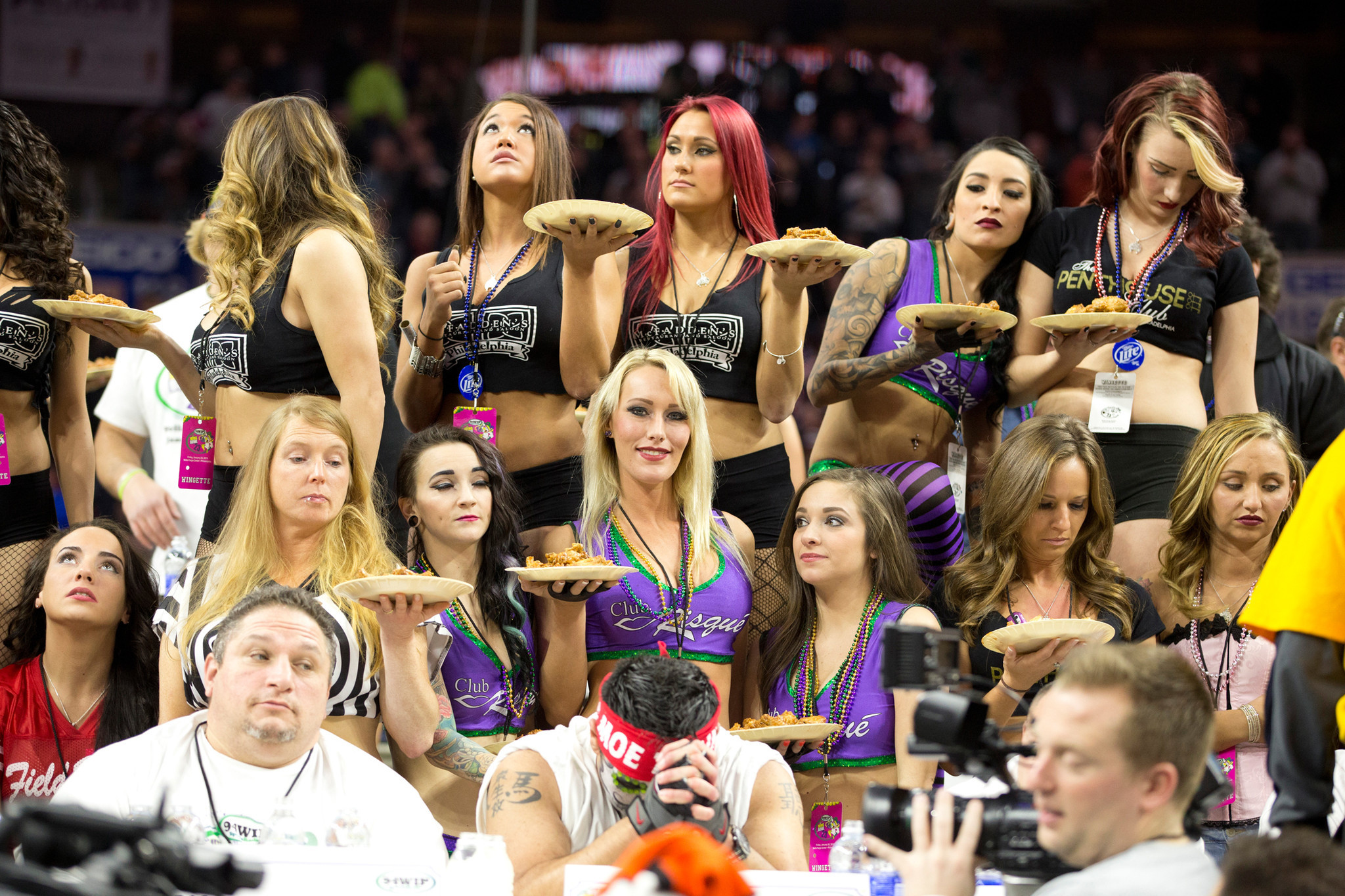 Foray into dark forest of Wing Bowl fun