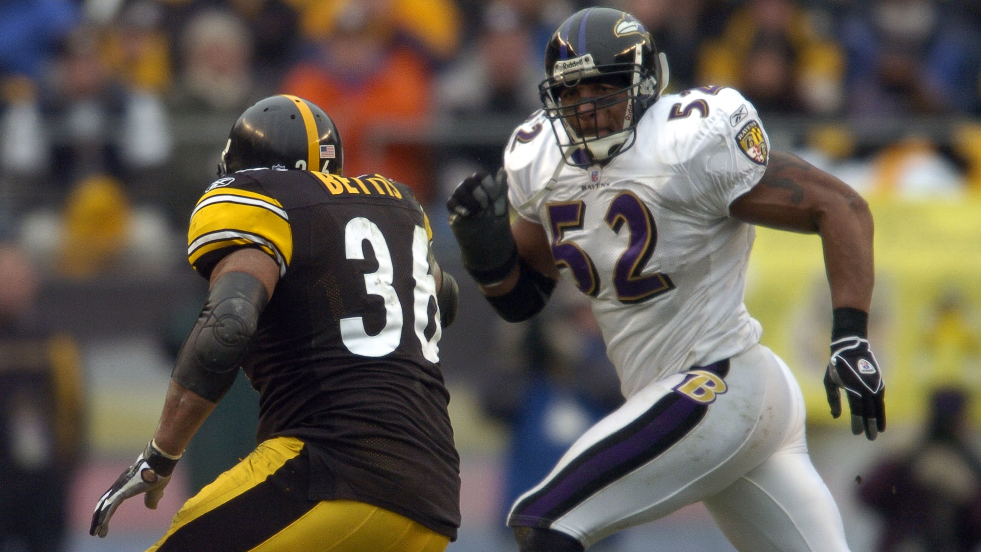 Ray Lewis Football Hits: In Honor Of Jerome Bettis' Hall Of Fame Selection, Watch