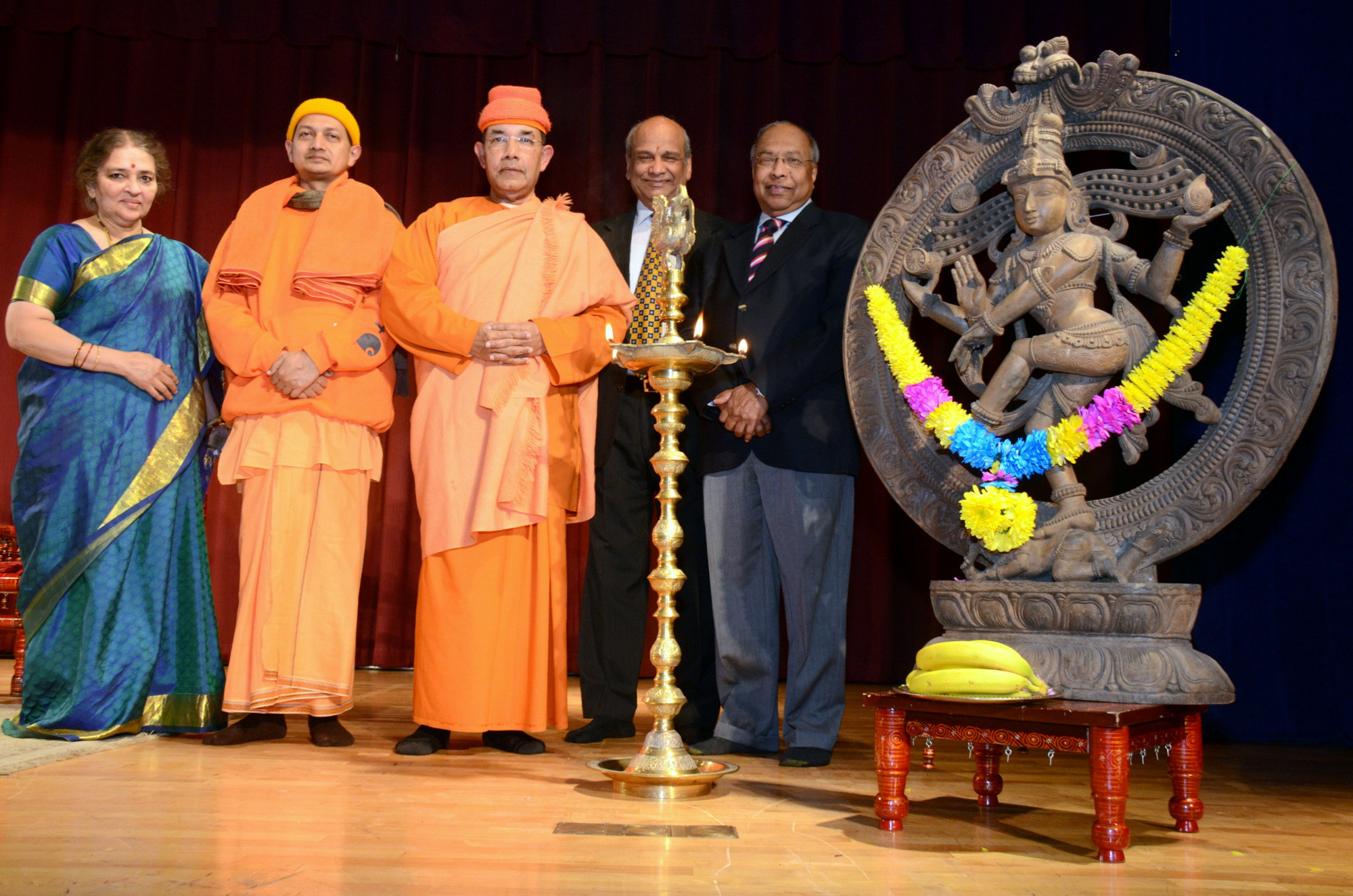 maharudram event at hindu temple of greater chicago