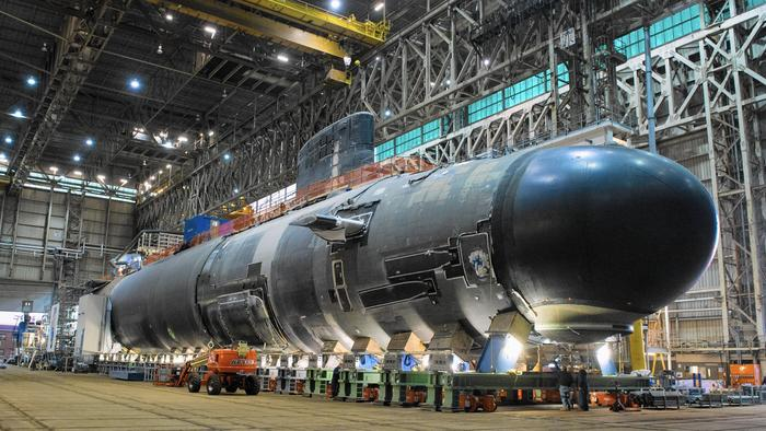 Carl Lavo Uss Illinois Submarine Set To Be Christened