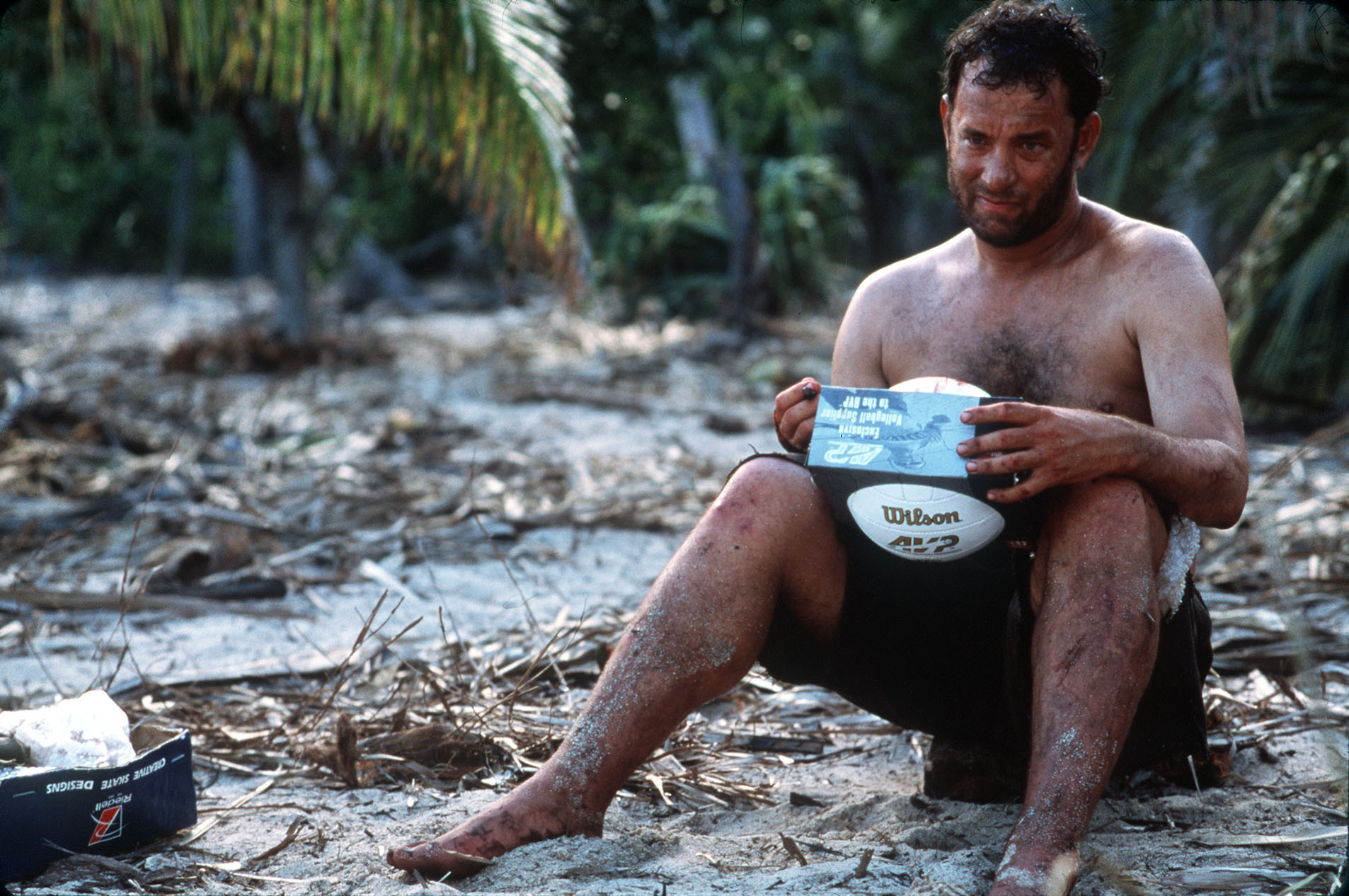 Tom Hanks and his old 'Cast Away' pal Wilson reunited at ...