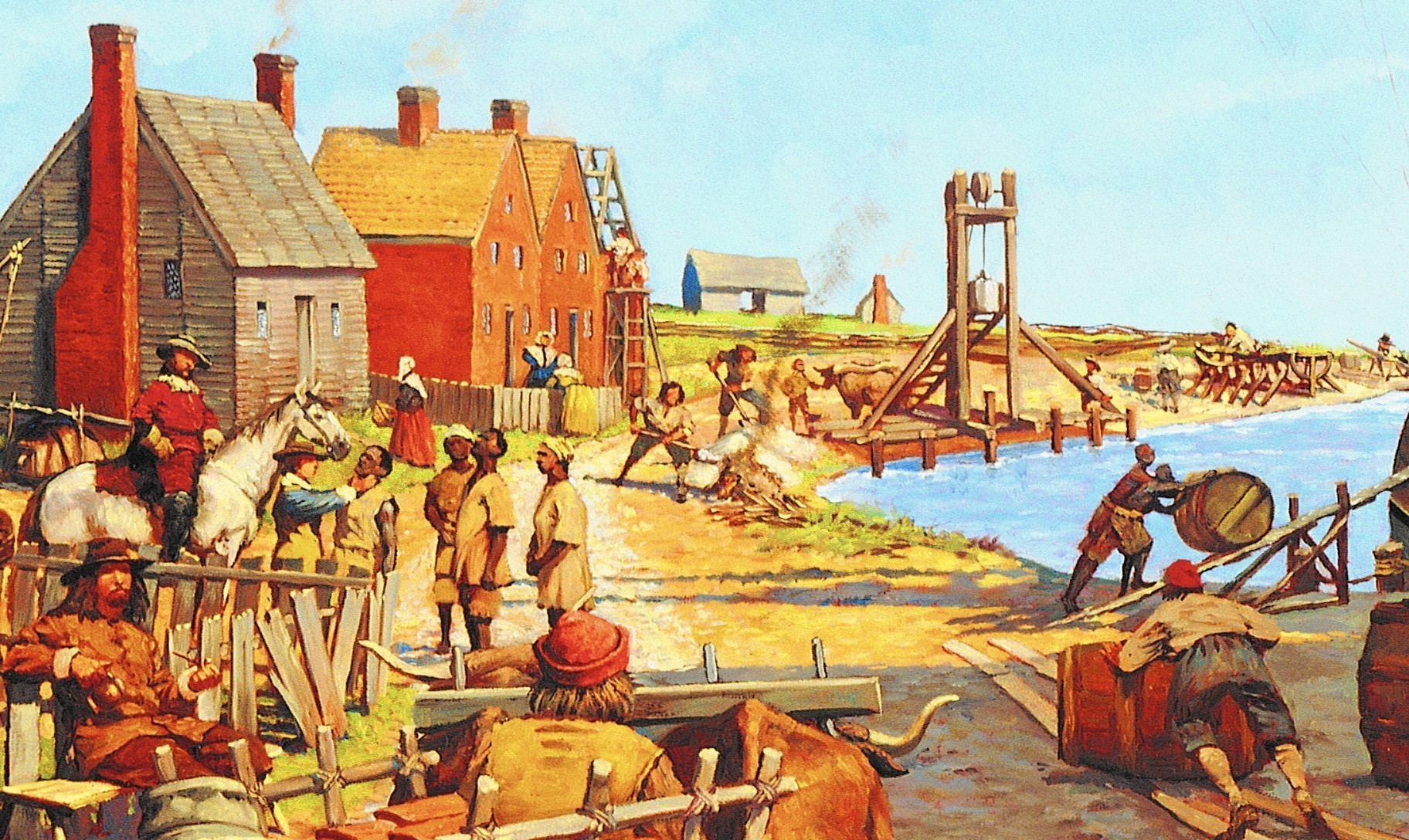 Jamestown set the course for slavery in Virginia - Daily Press