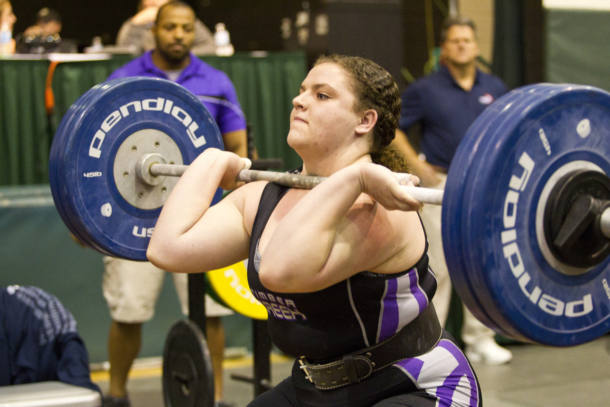 The Fhsaa Girls State Weightlifting Championships Were