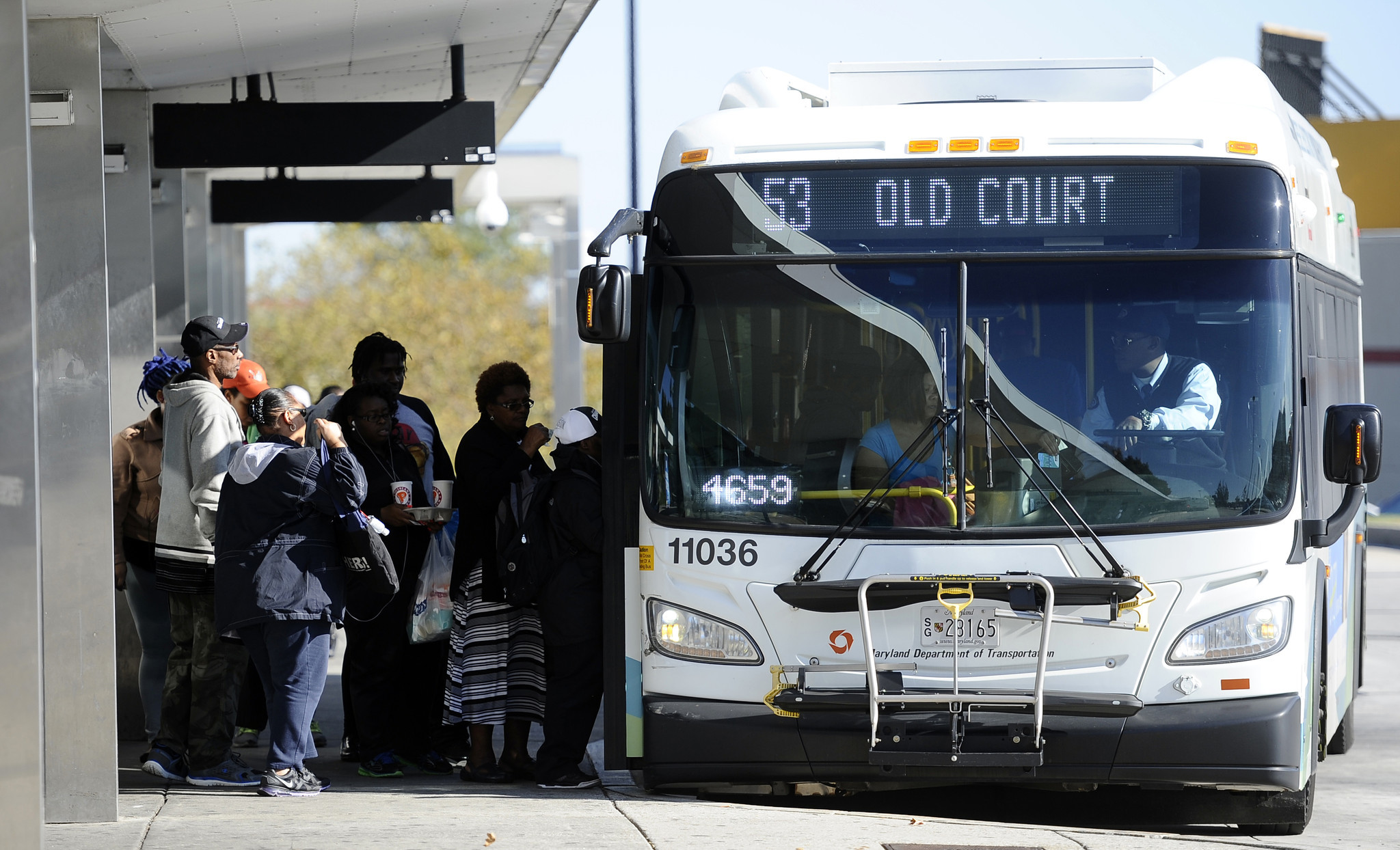 mta launches real-time bus tracking system - baltimore sun