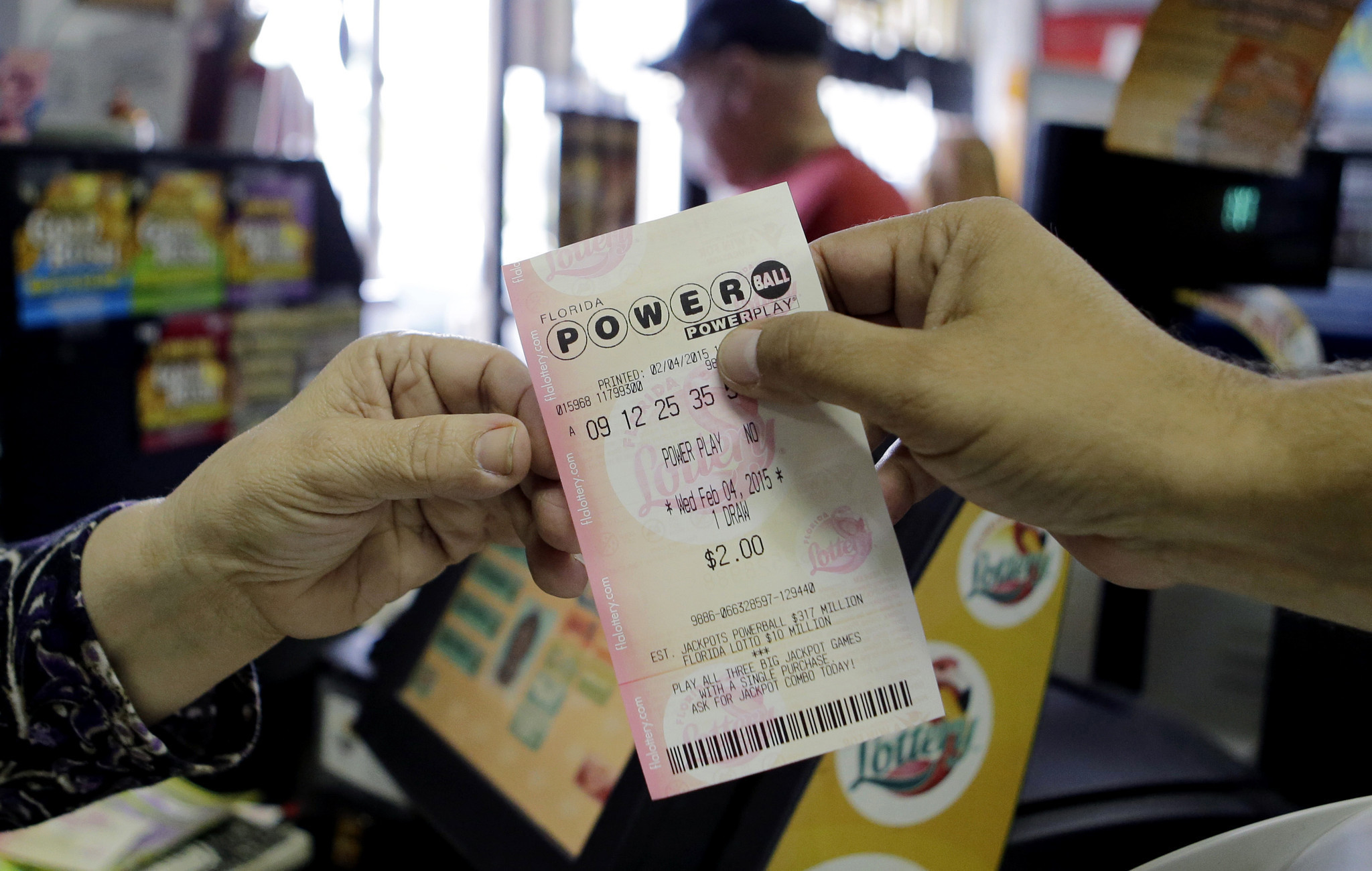 supermarket customer sweepstakes raffle draw powerball jackpot reaches 500 million only the latest 9326