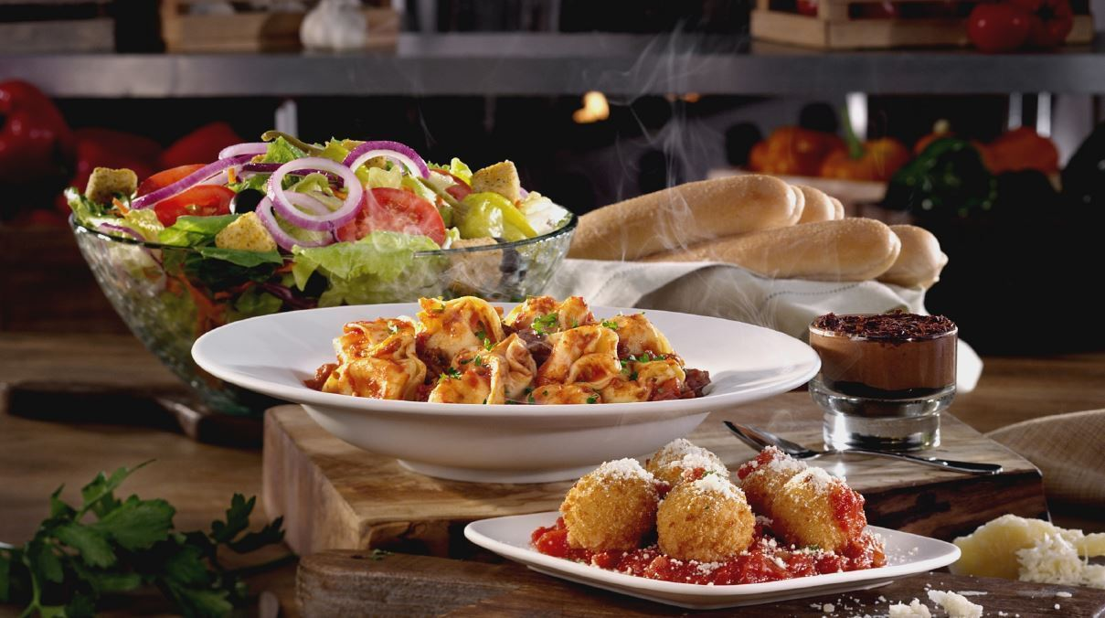 fried mozzarella. photo of olive garden italian restaurant maplewood ...