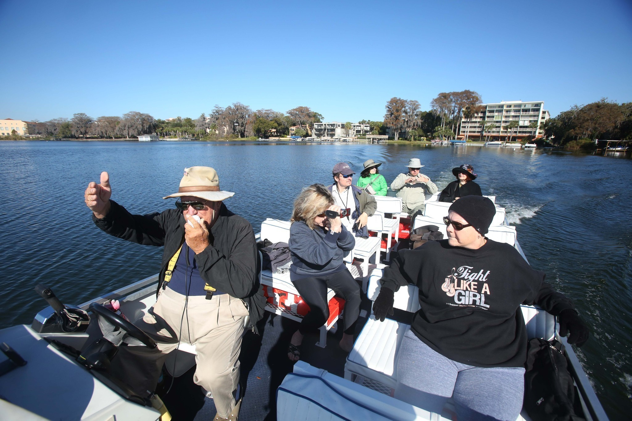 Winter Park Boat Tour Guides Arrived From All Over For One
