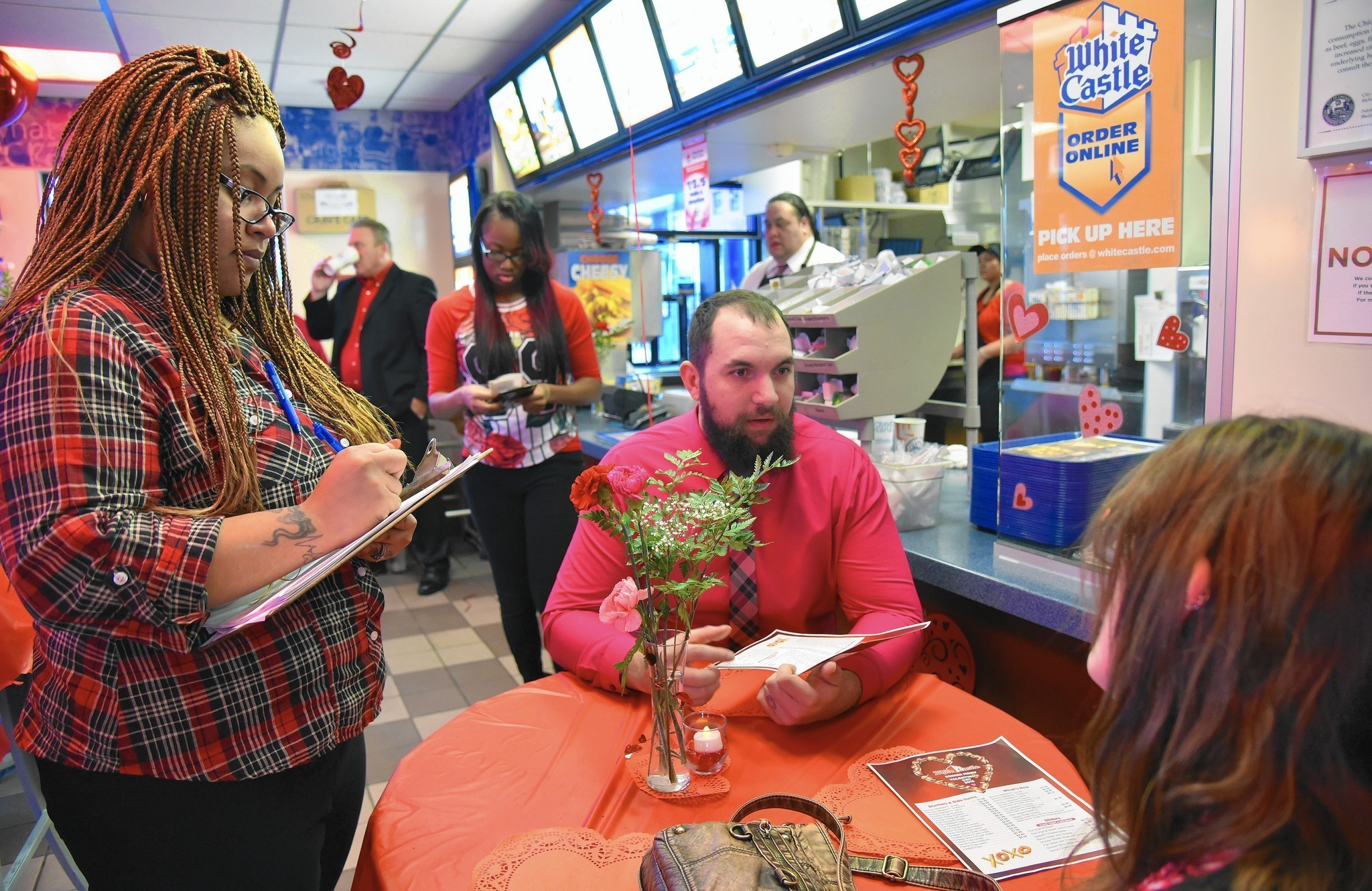 Northwest Side White Castle A Hot Reservation On Valentine