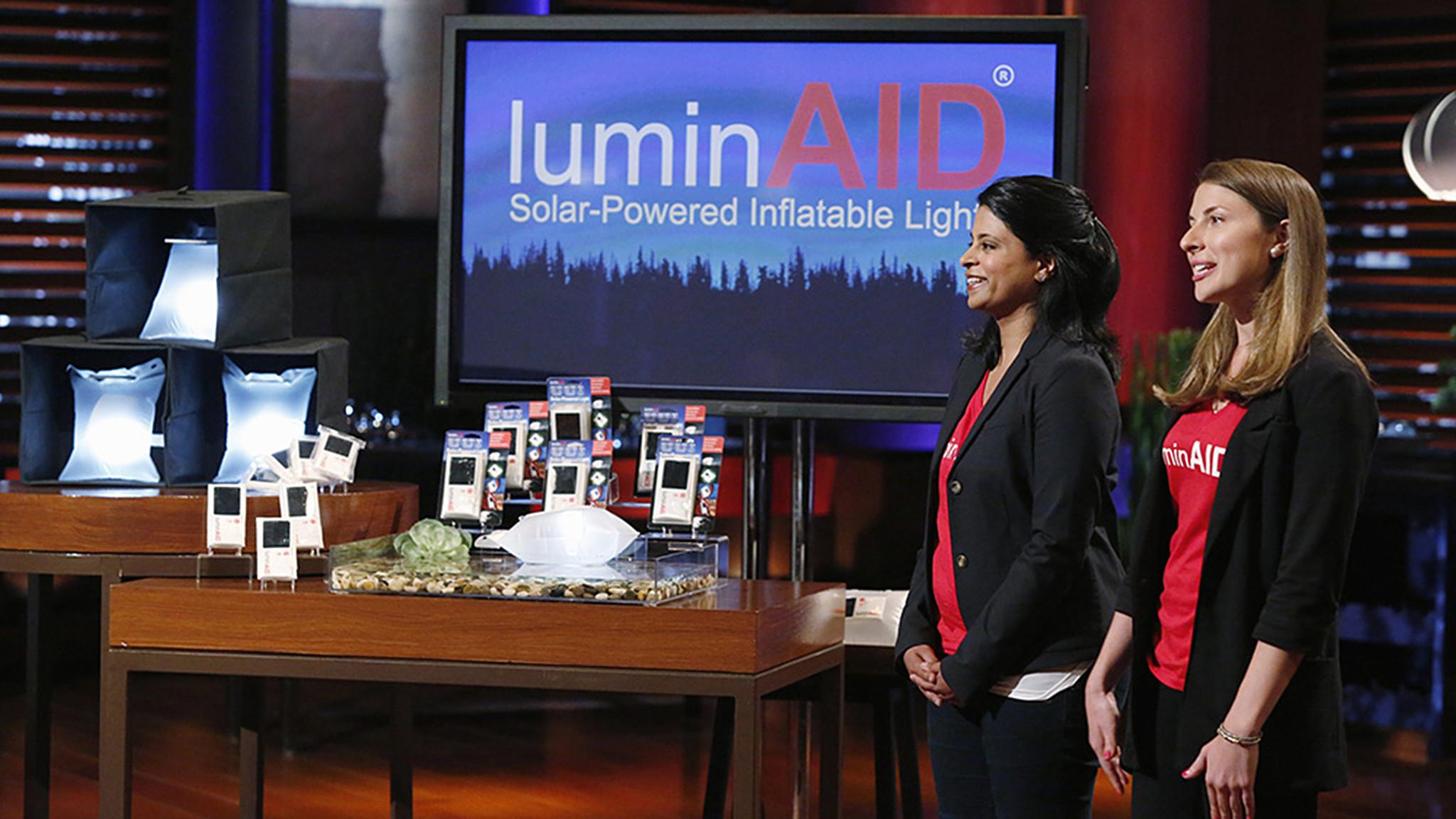 Luminaid Co Founders To Appear On Abc S Shark Tank On