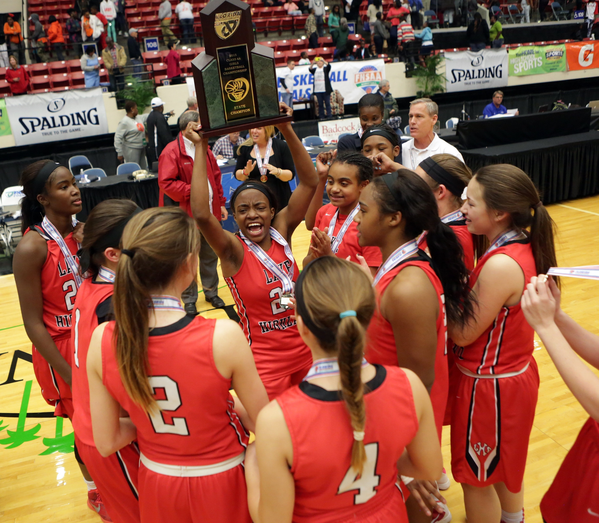 Lake Highland 4A state champs after OT win - Orlando Sentinel