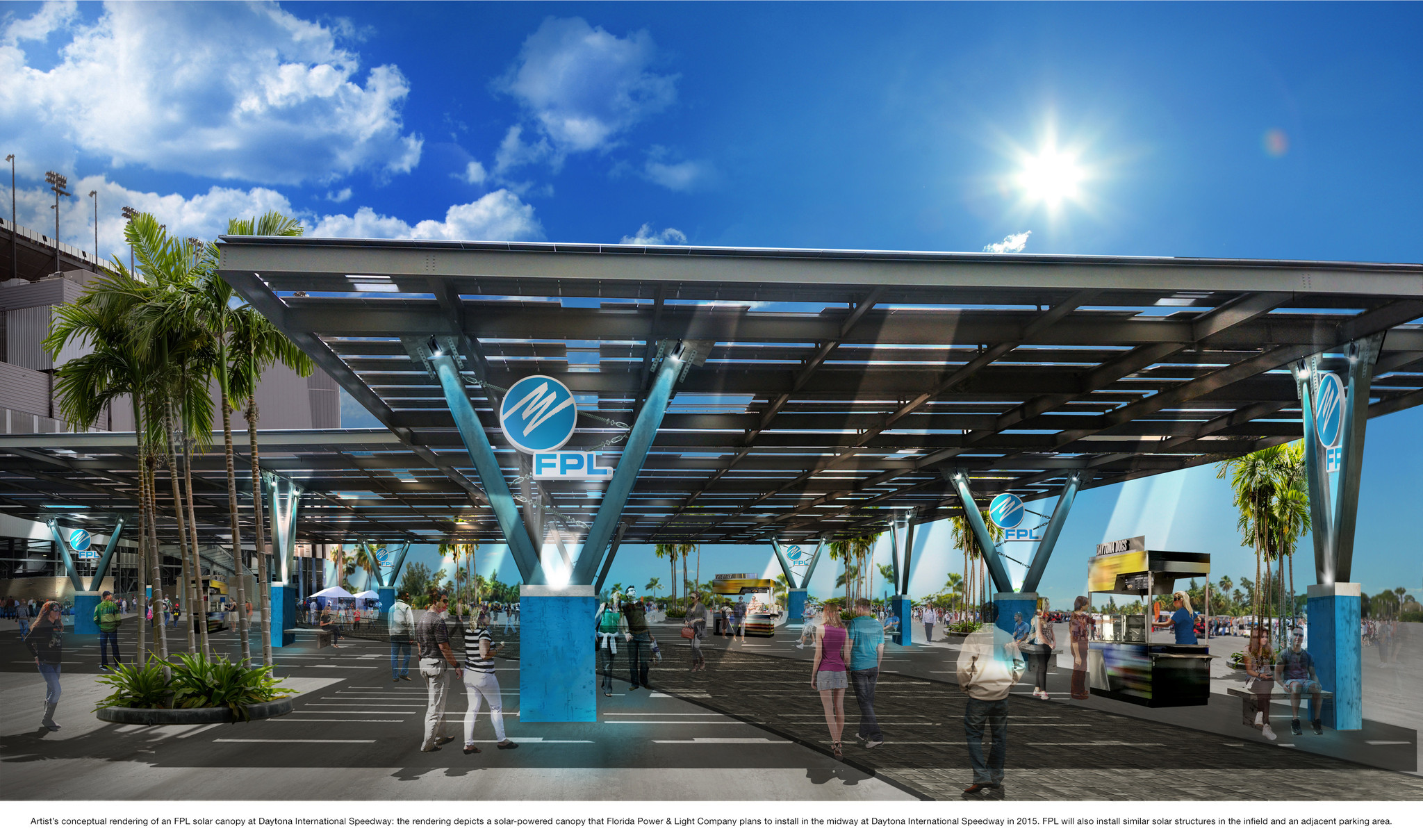 Fpl To Install 7 Million Solar Energy Project At Daytona
