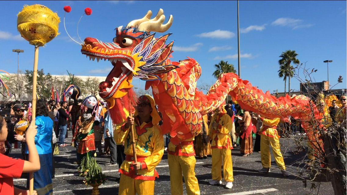 Dragons Galore At Lunar New Year Celebration In Orlando