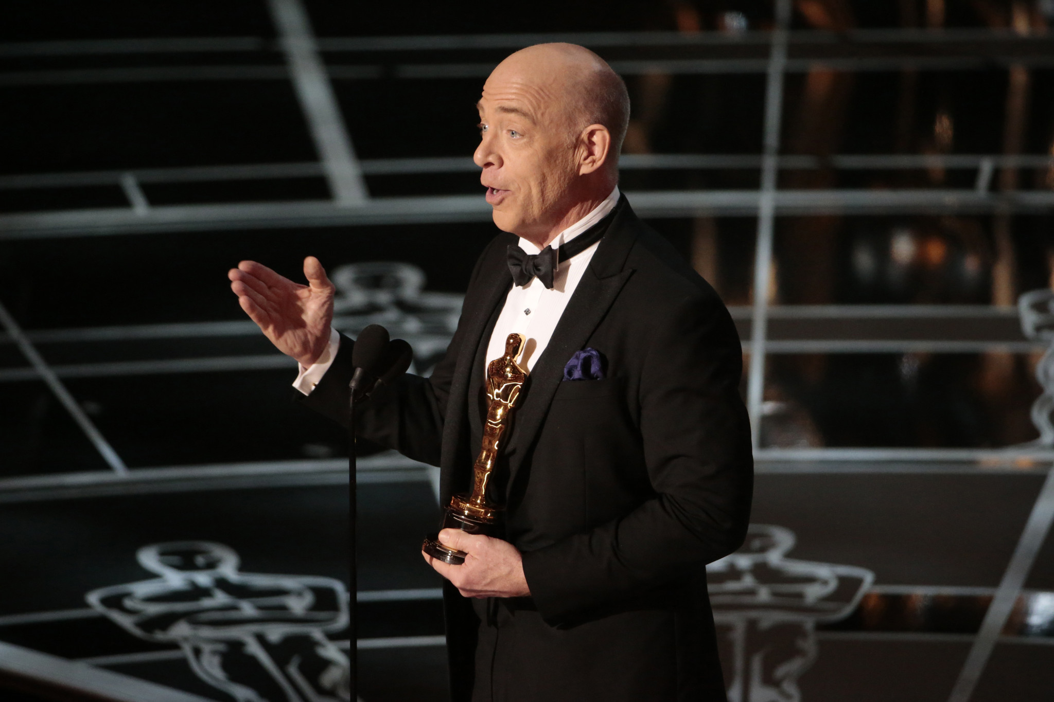 Oscars 2015: J.K. Simmons expounds on lean times and ...
