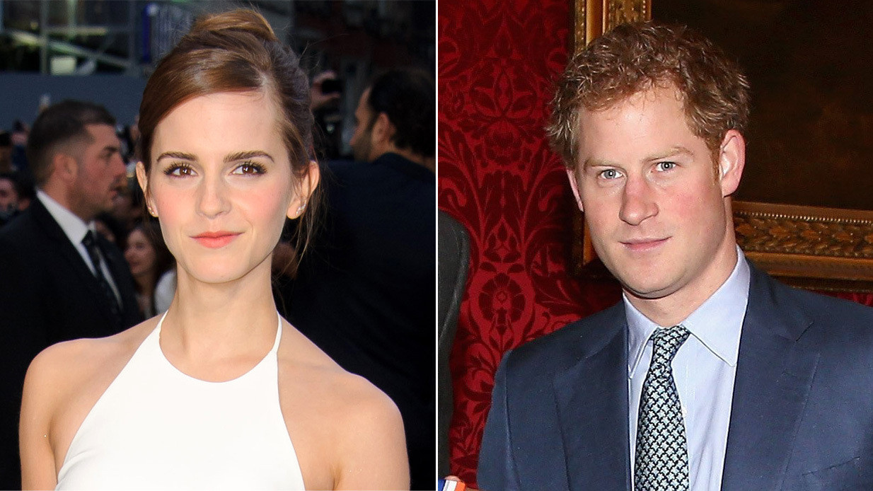 Woman s Day claims Prince Harry is secretly dating Emma Watson
