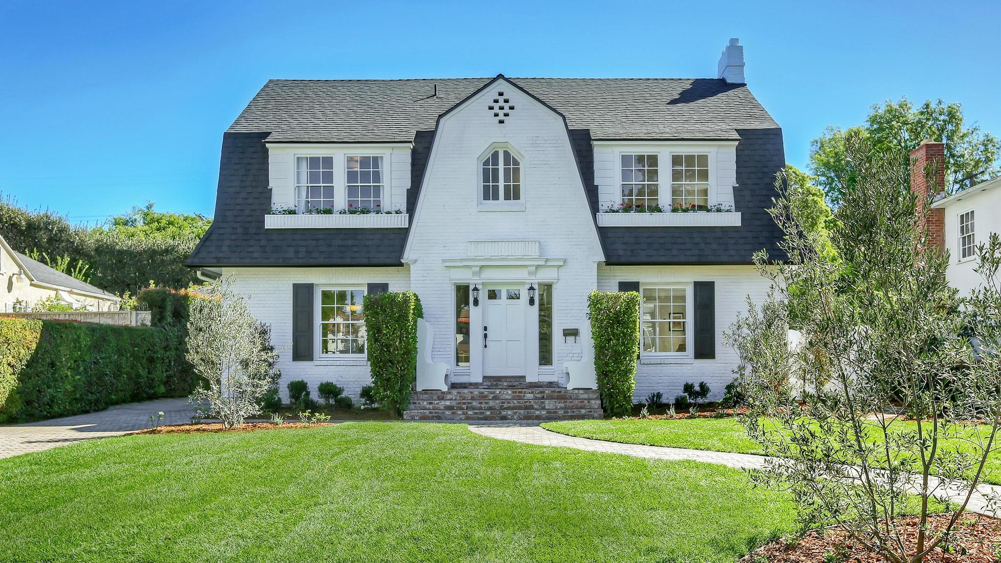 Home of the Day: 1920s Dutch Colonial Revival in Lafayette ...
