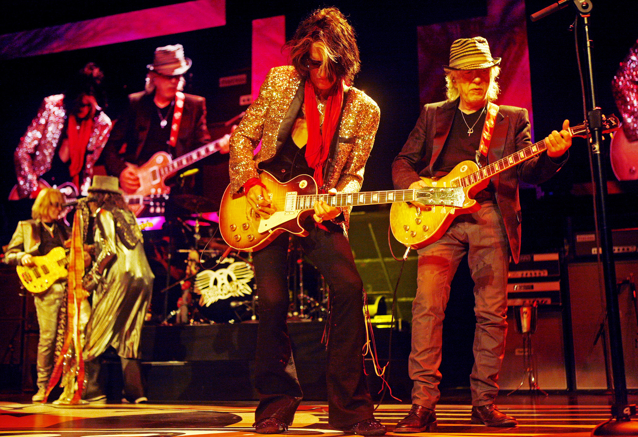 festival walk_Interviewing Aerosmith: Classic band says new concert movie catches its best as it ...