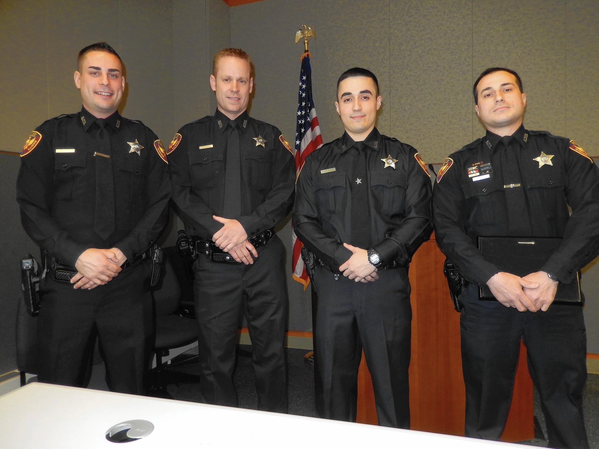 Aurora police honor four men as Co-Employees of Year - Aurora Beacon-News f5c360c254