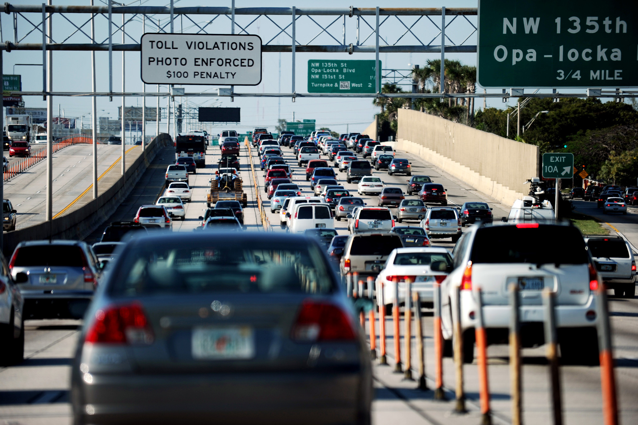 I 95 Express Lanes Hit Top 10 50 Toll Too Many Times