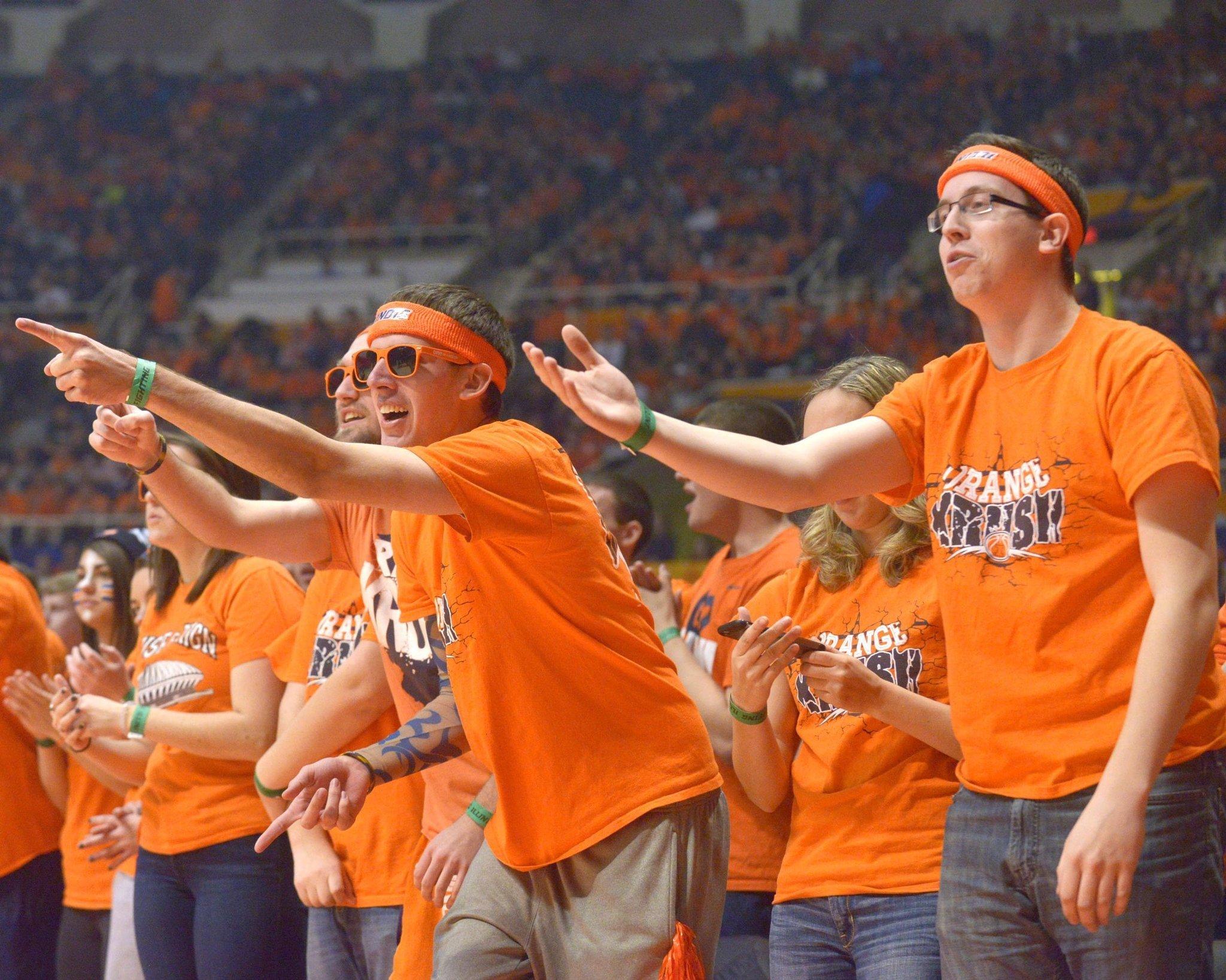 Ranking Big Ten basketball student sections - Chicago Tribune