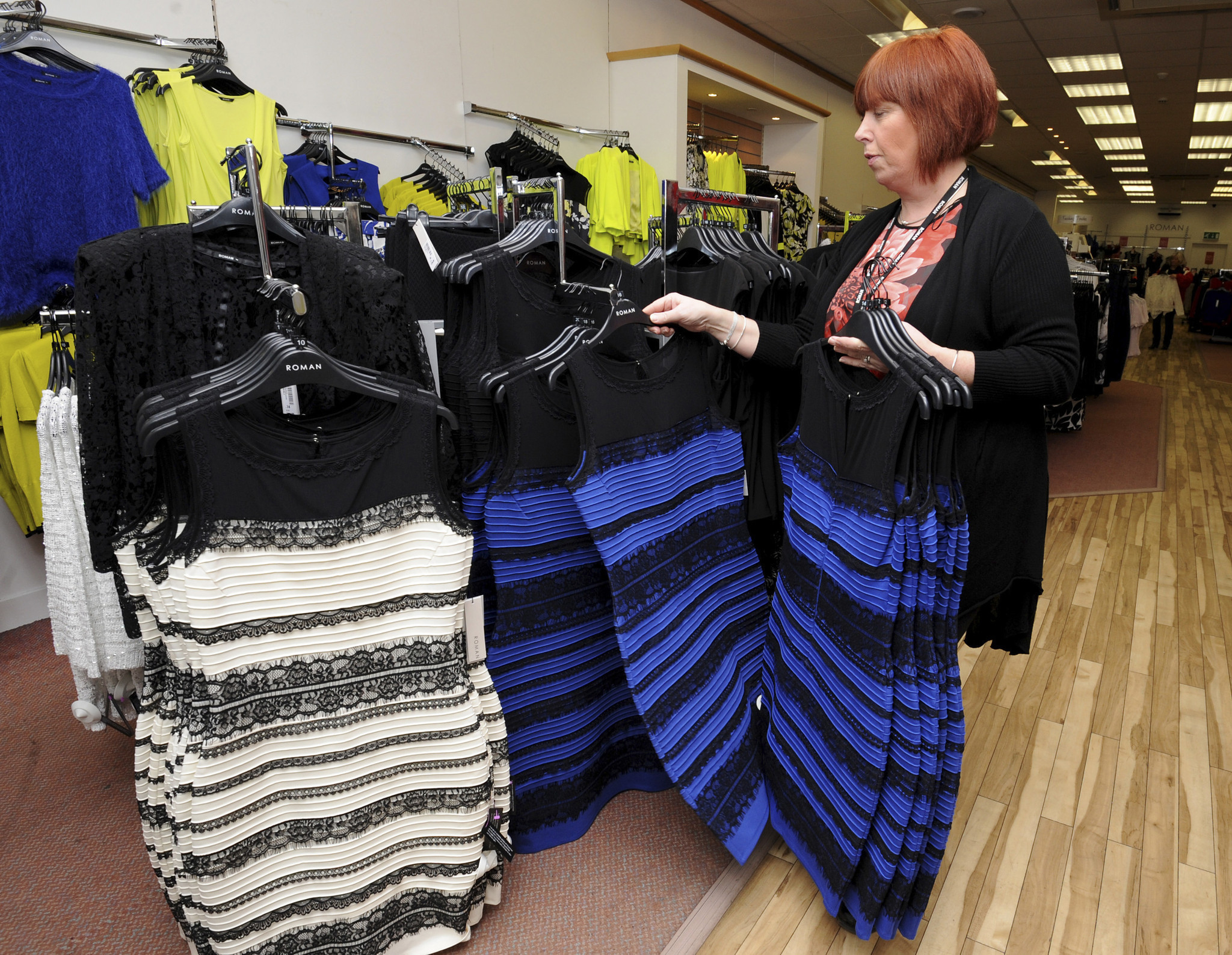 Dressmaker Seeing Green After Online Color Debate
