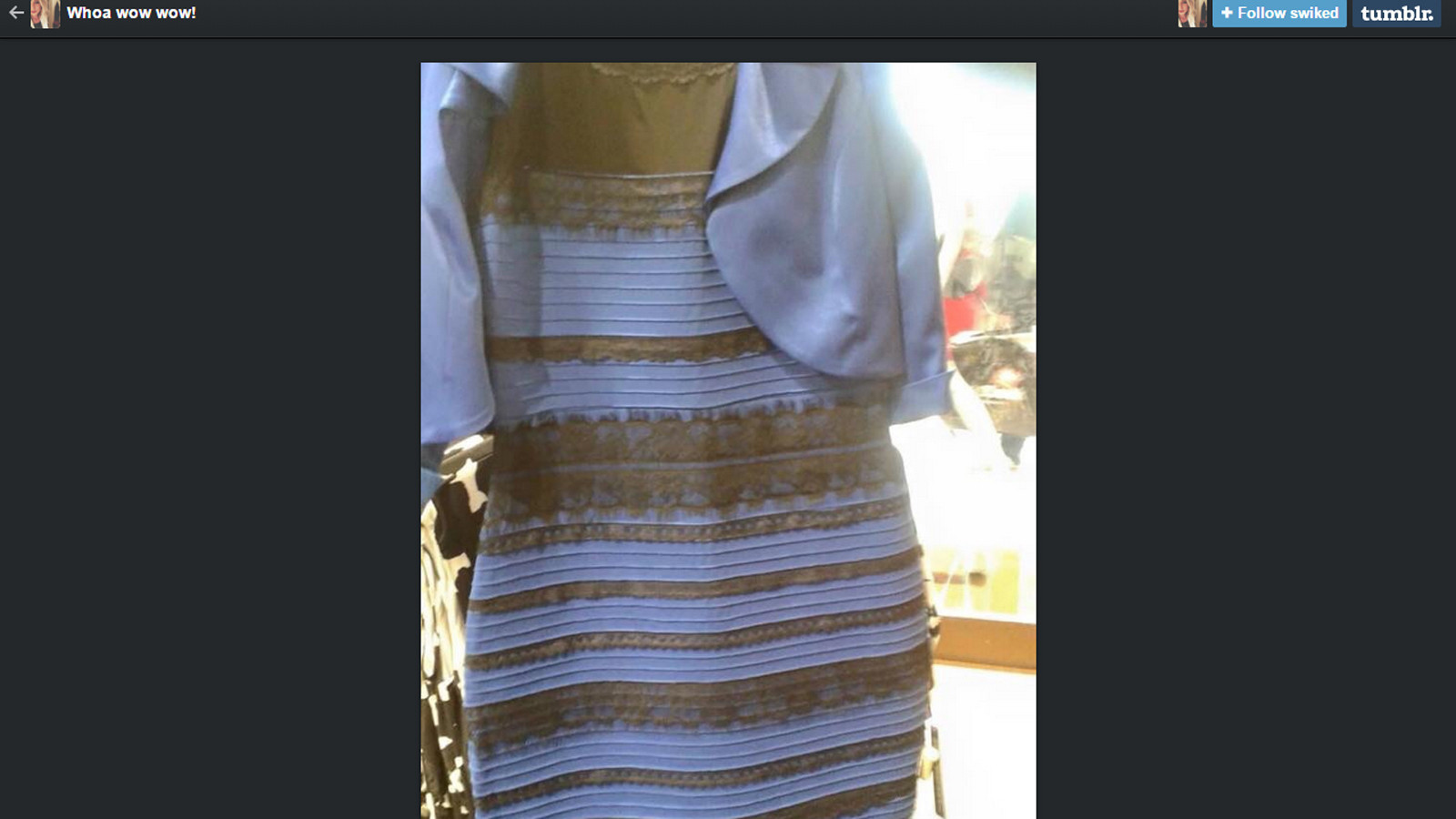 Why Some People See Thedress As White And Gold Rather