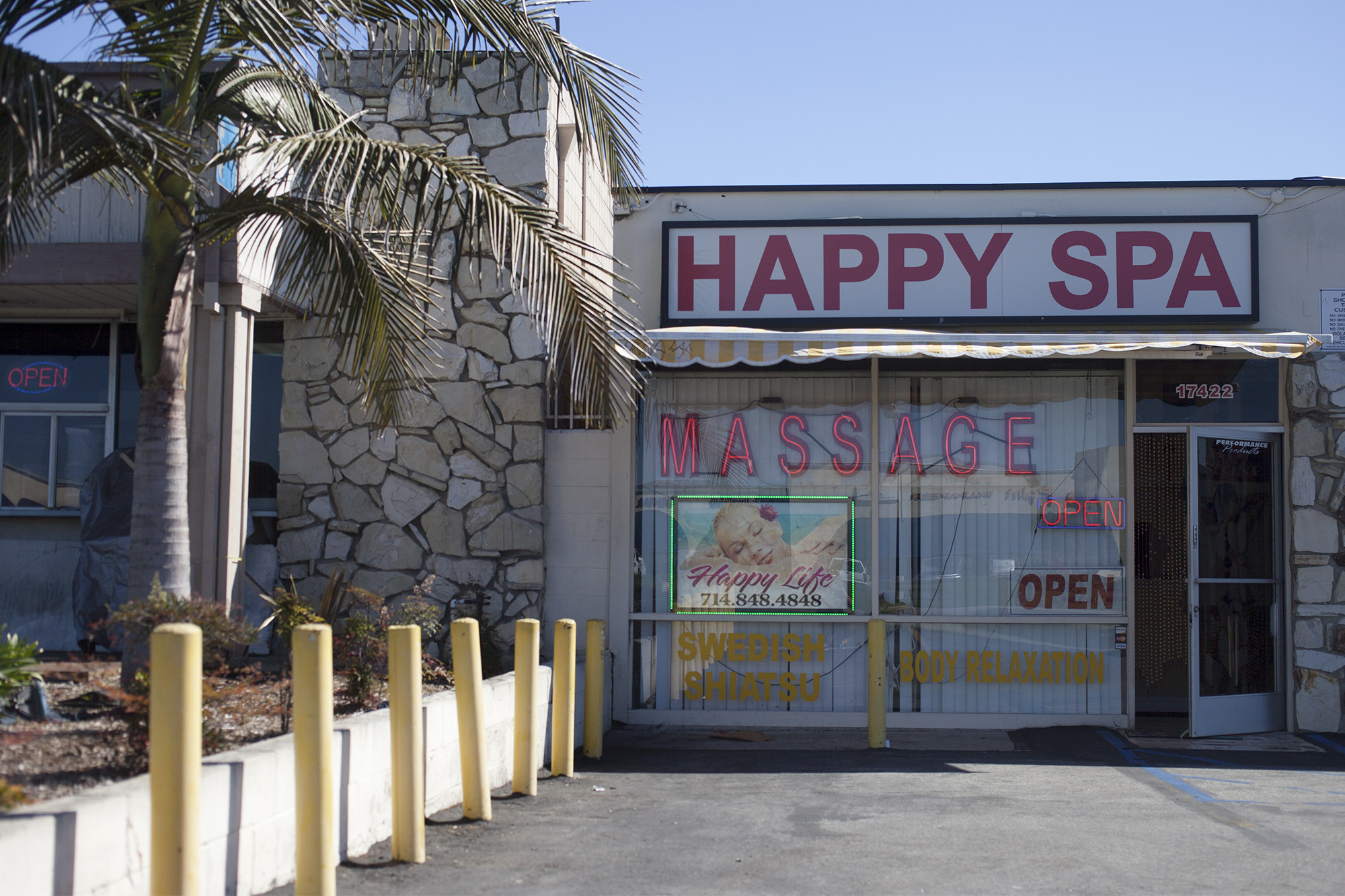 Los angeles massage parlor