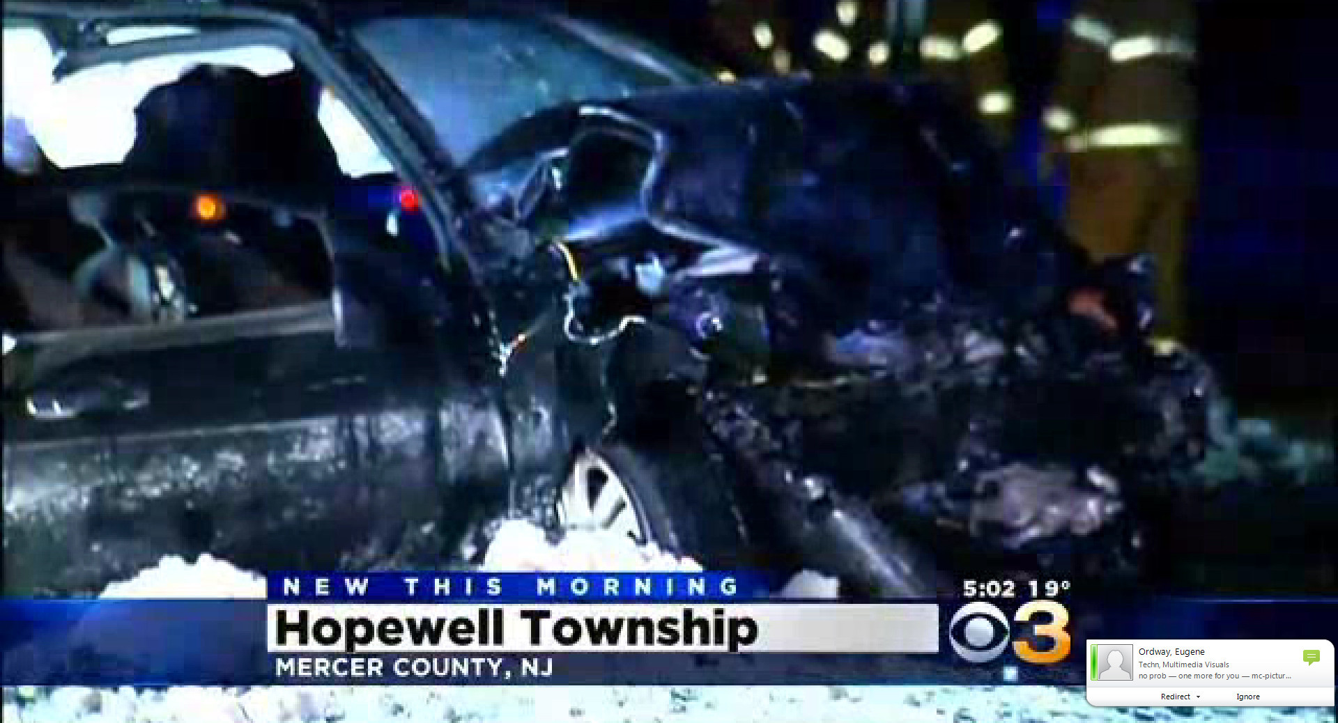 Hopewell Township Nj Car Accident
