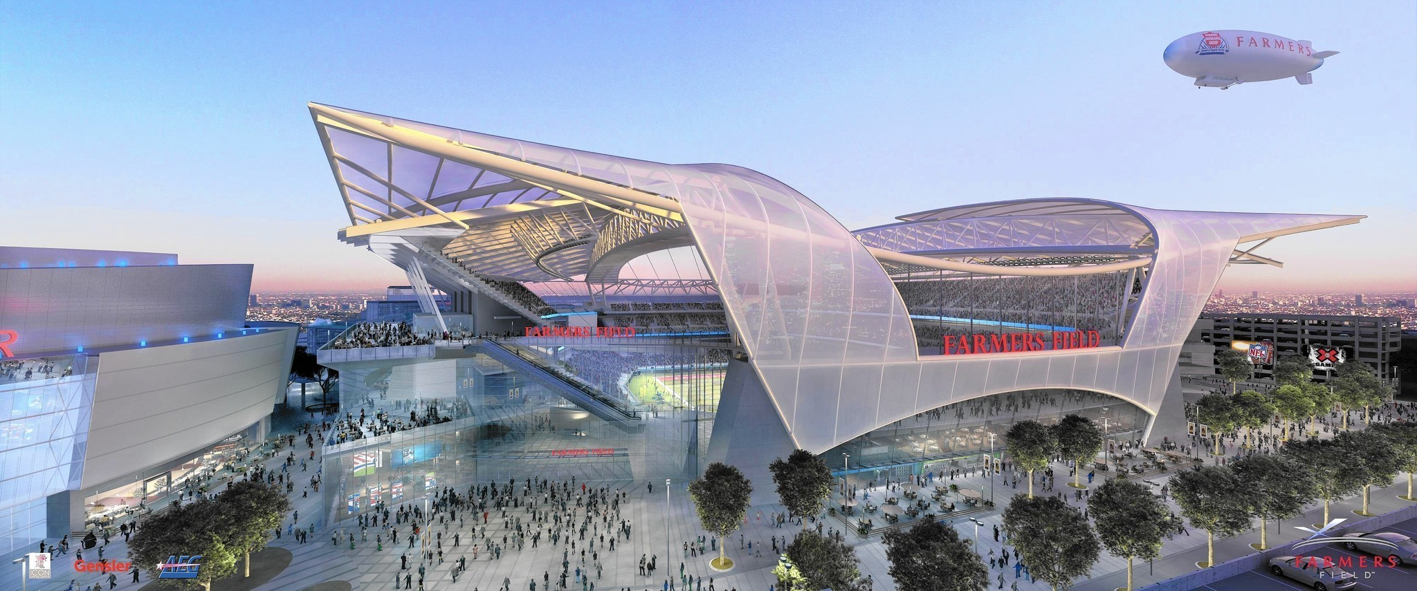 Aeg Falling Behind In Fight For Nfl Stadium Takes The