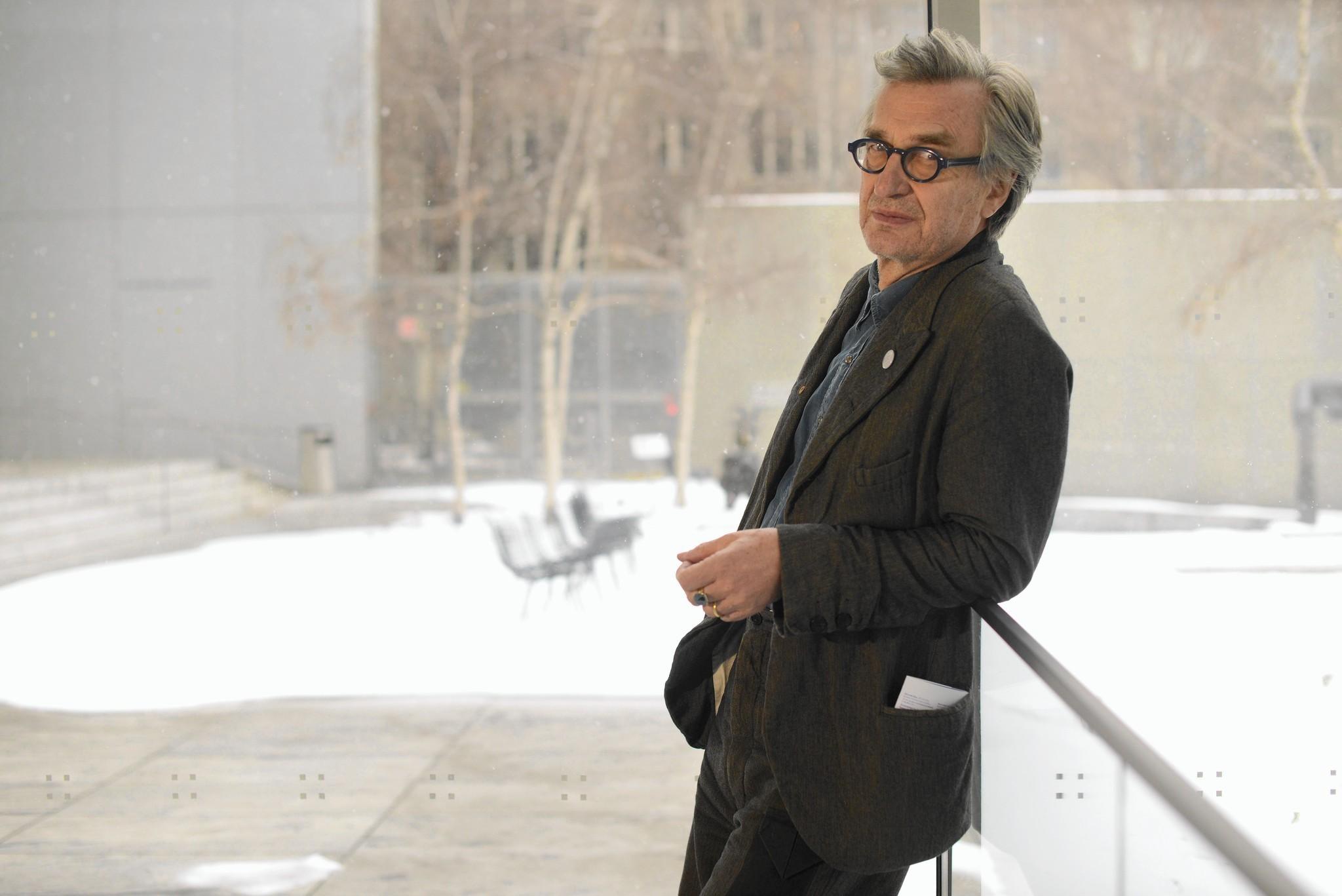 German filmmaker Wim Wenders looks backward, forward - LA ...