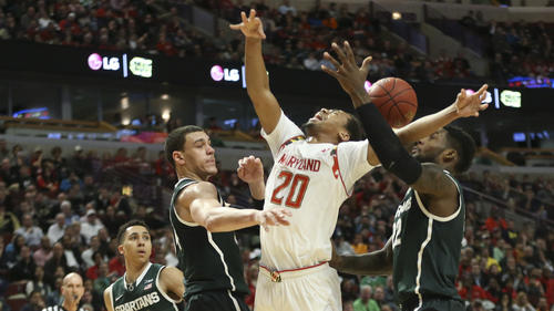 924a3e6f6 Michigan State roars back to topple Maryland on way to Big Ten final
