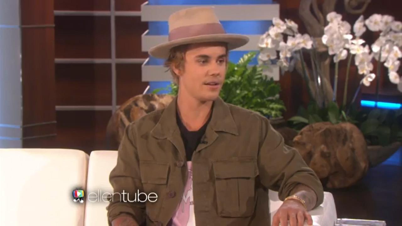 Justin Bieber talks being roasted with Ellen DeGeneres