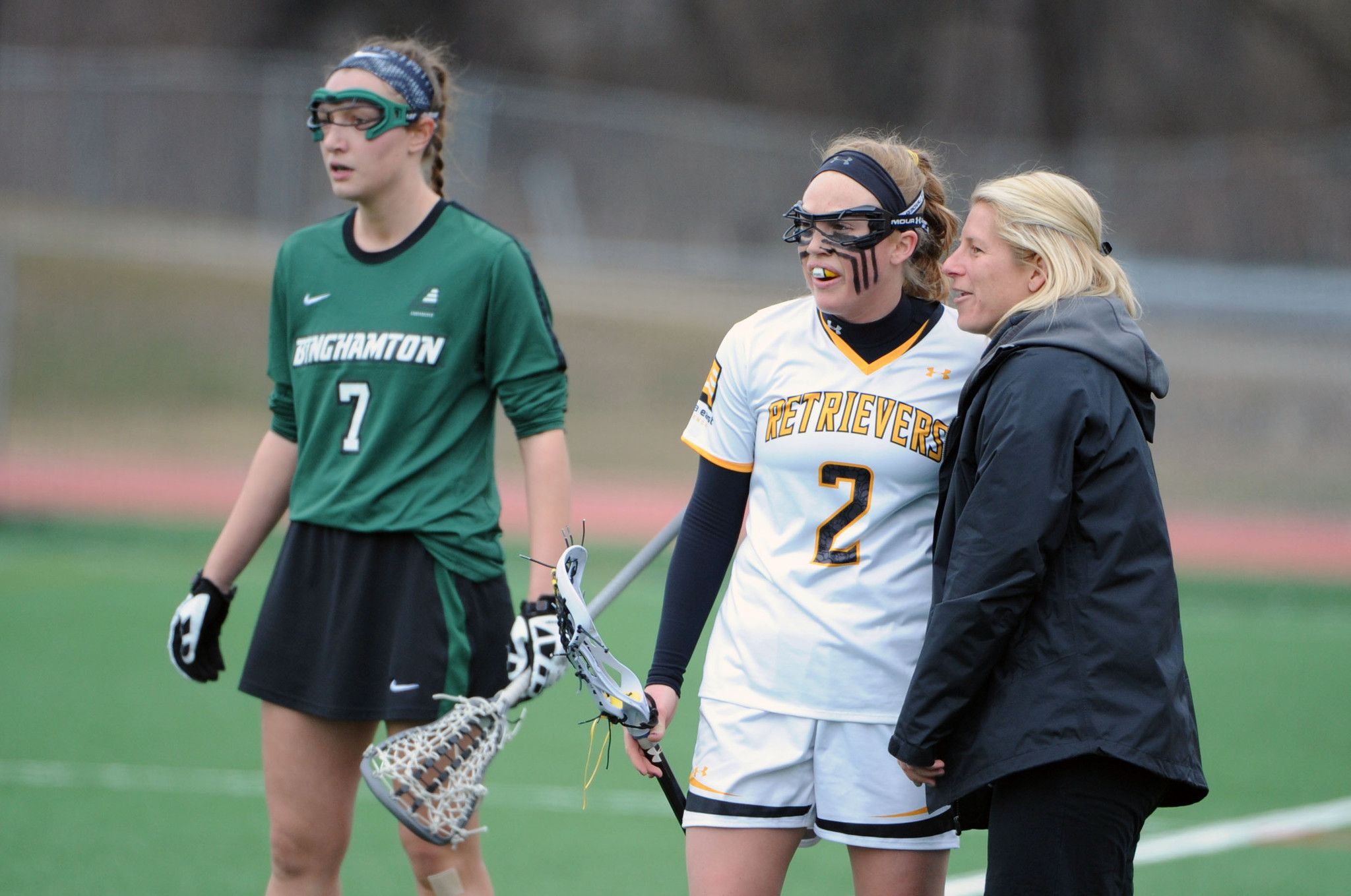 UMBC wins first game under new head coach Amy Slade, tries ...
