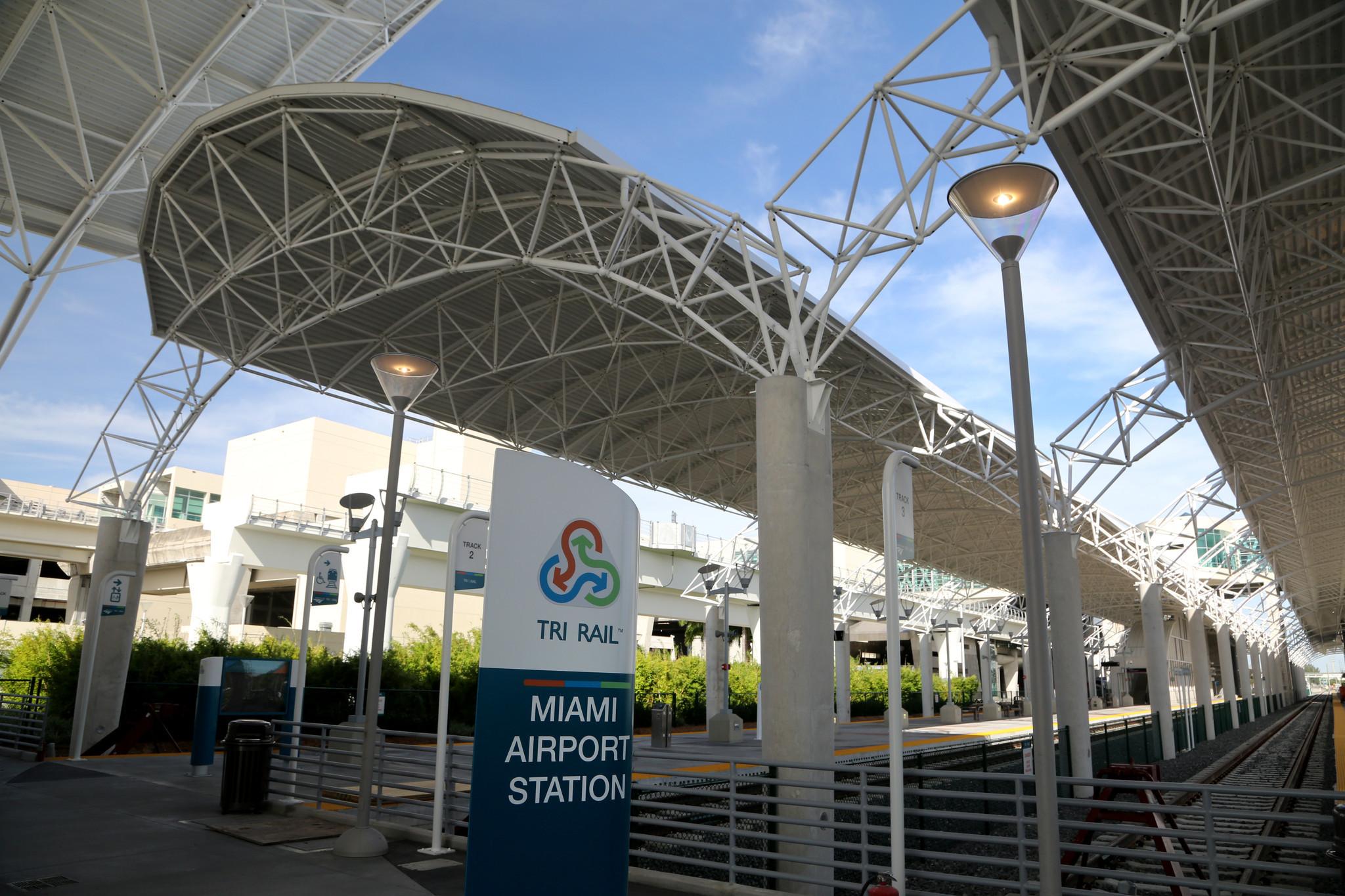 tri-rail's miami airport station set to open on april 5