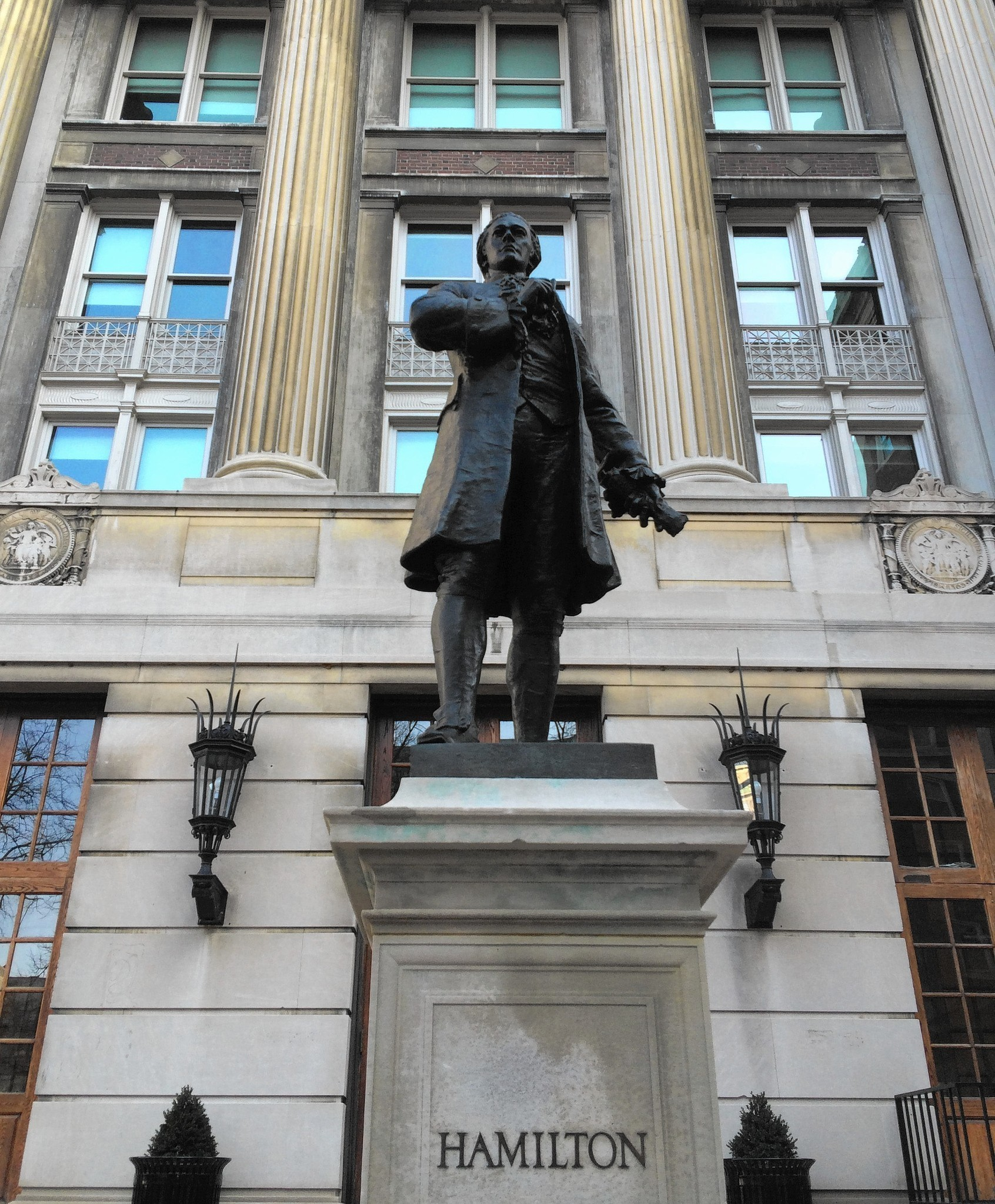NY, NJ Sites Honoring Founding Father Alexander Hamilton