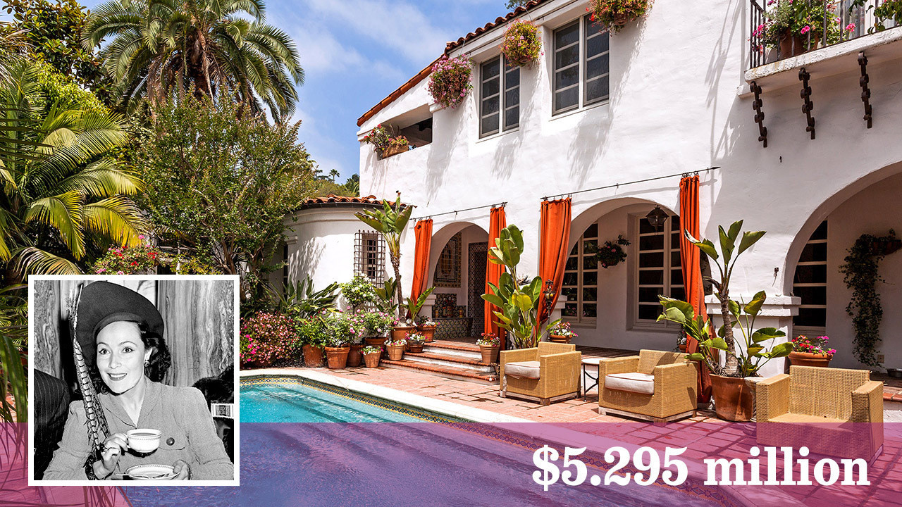 early dolores del rio home for sale in hollywood hills la times. Black Bedroom Furniture Sets. Home Design Ideas