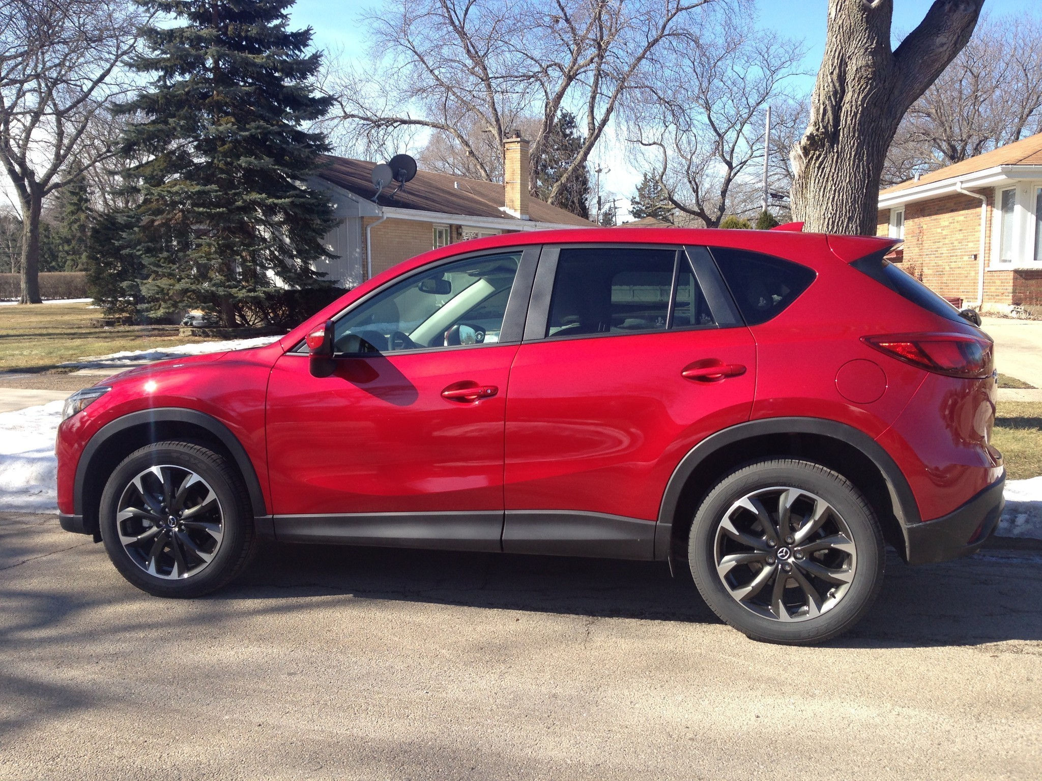 2016 mazda cx-5 refresh upgrades infotainment to luxury level