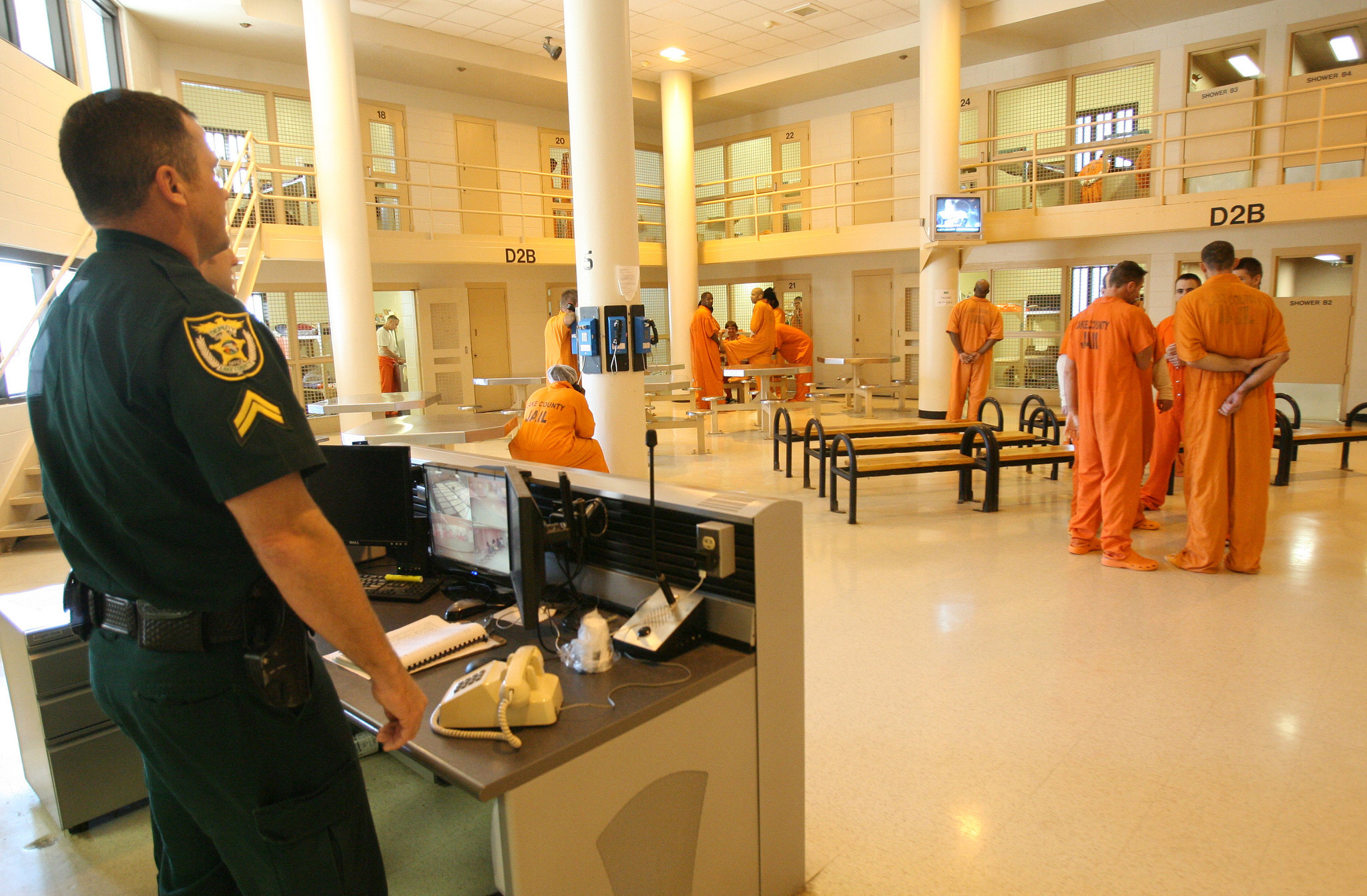 Orange County Corrections Provide Medical Care For Inmates