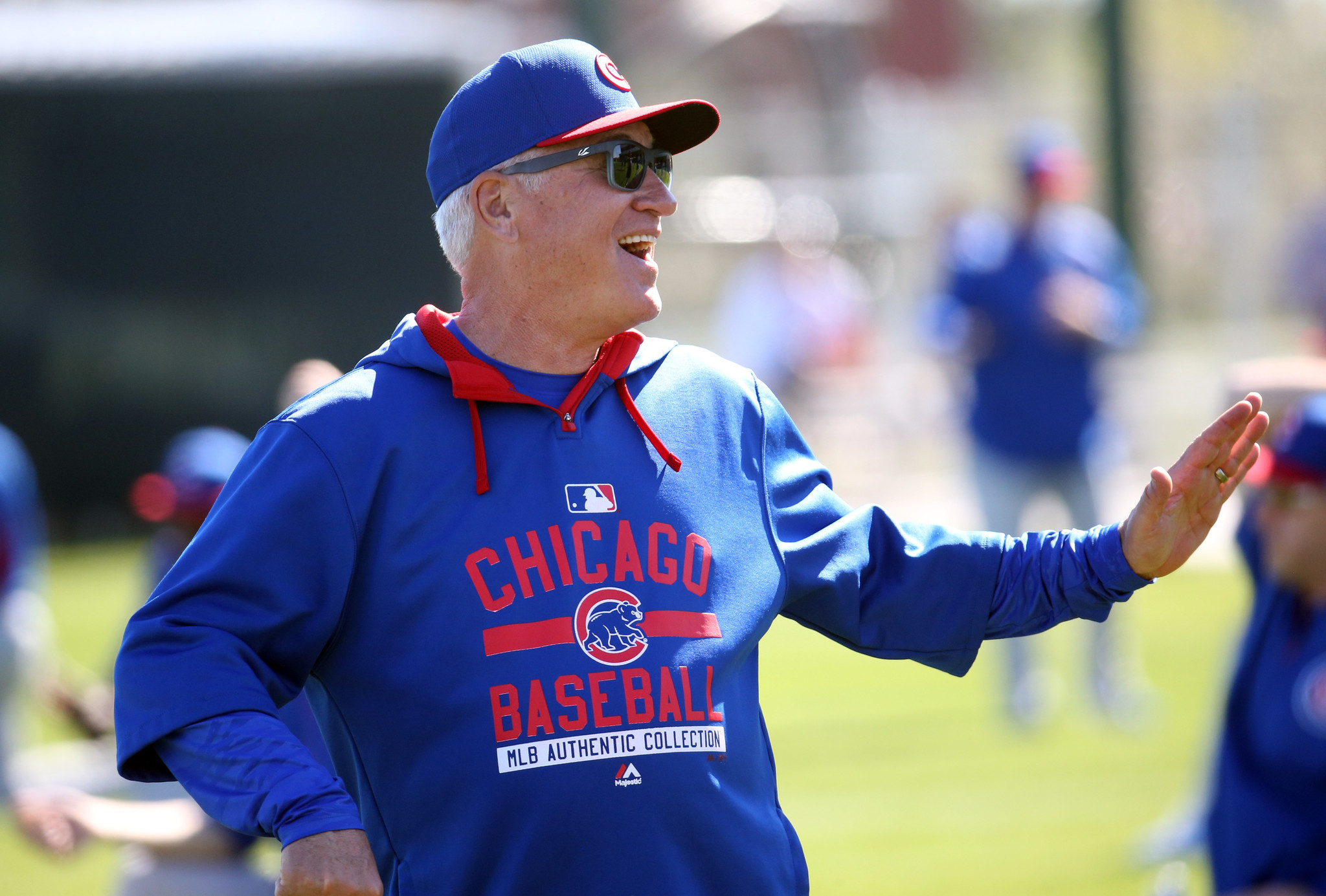 Joe Maddon eager to take the measure of his National ...