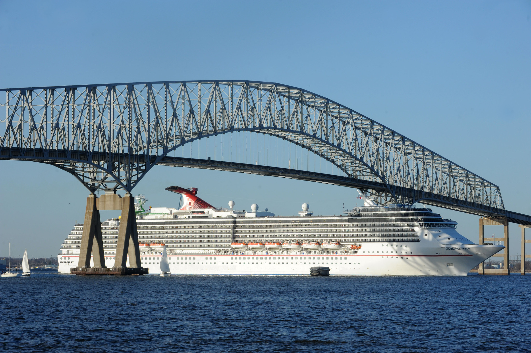 Carnival Pride Takes Its First Trip Out Of Baltimore After