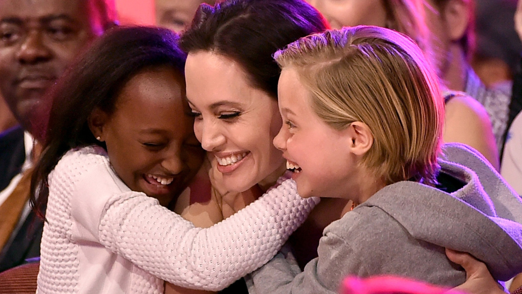 Angelina Jolie urges all kids to be proud, 'cause a little ...