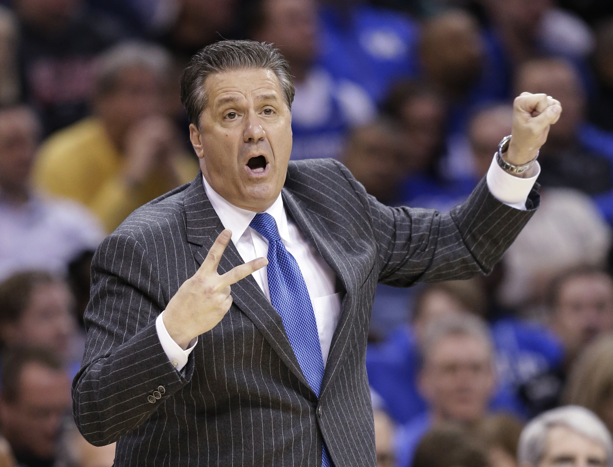 John Calipari: Kentucky's John Calipari Works The System To Help His