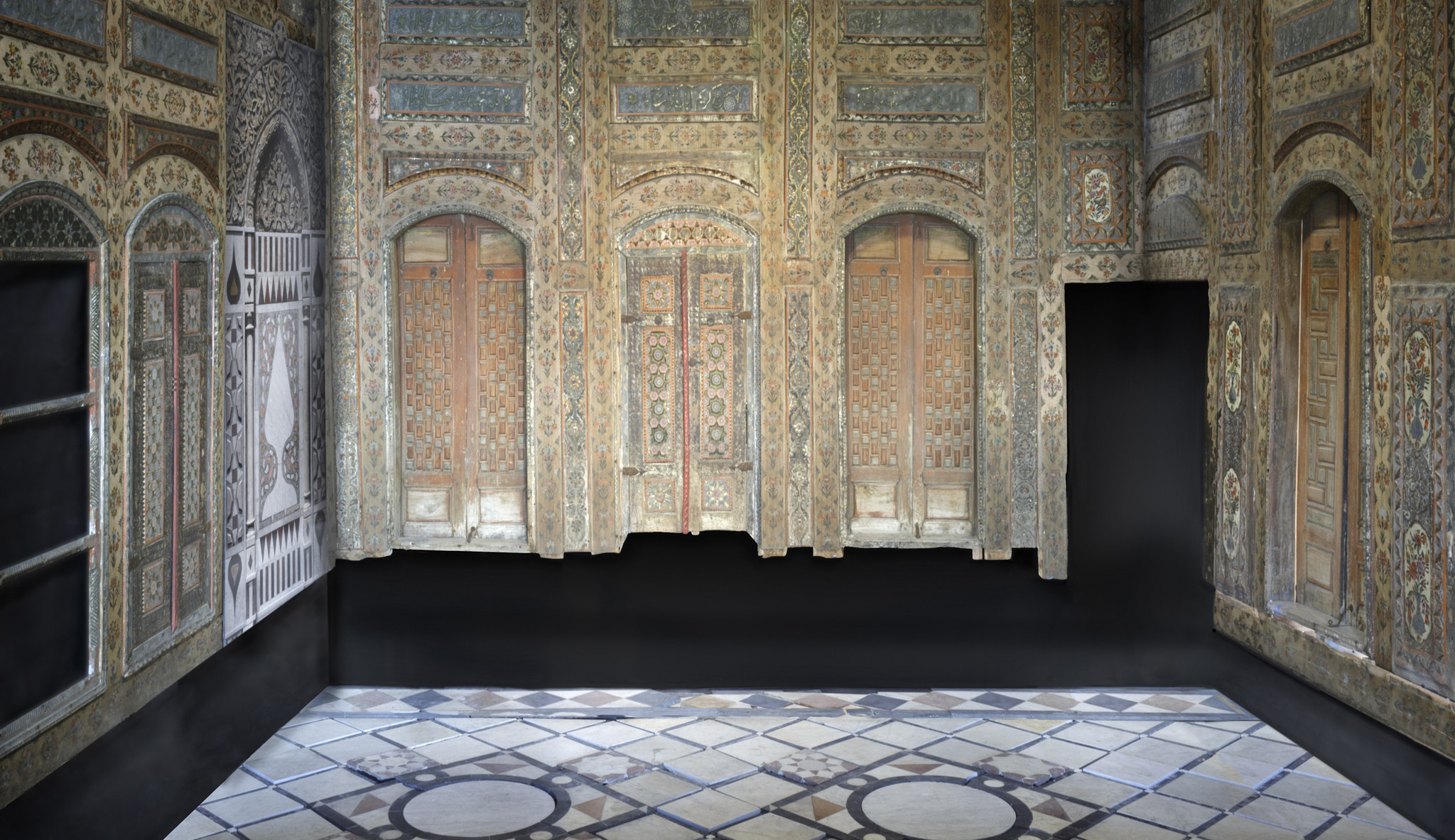 A Glimpse Inside Lacma S Hidden Damascus Room Before Its