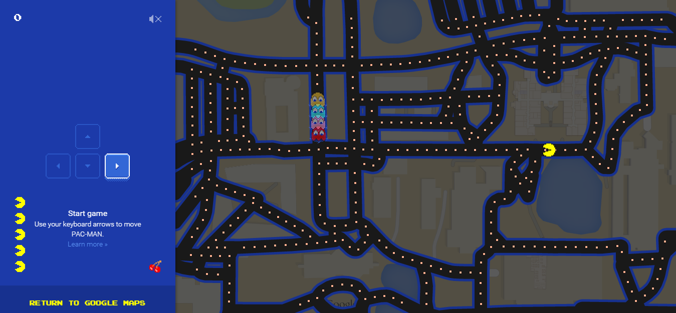 12 best spots to play Pac-Man on Google Maps in South Florida - Sun ...