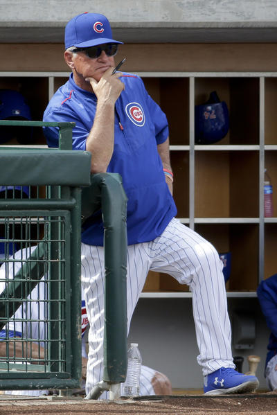 Managerial wheels really will be spinning with Joe Maddon ...