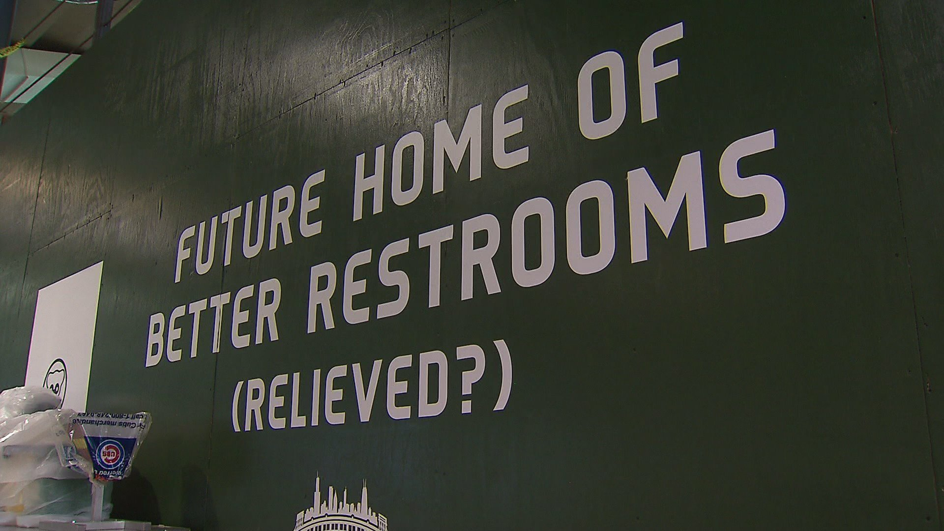 Cubs Apologize For Long Bathroom Waits Will Install
