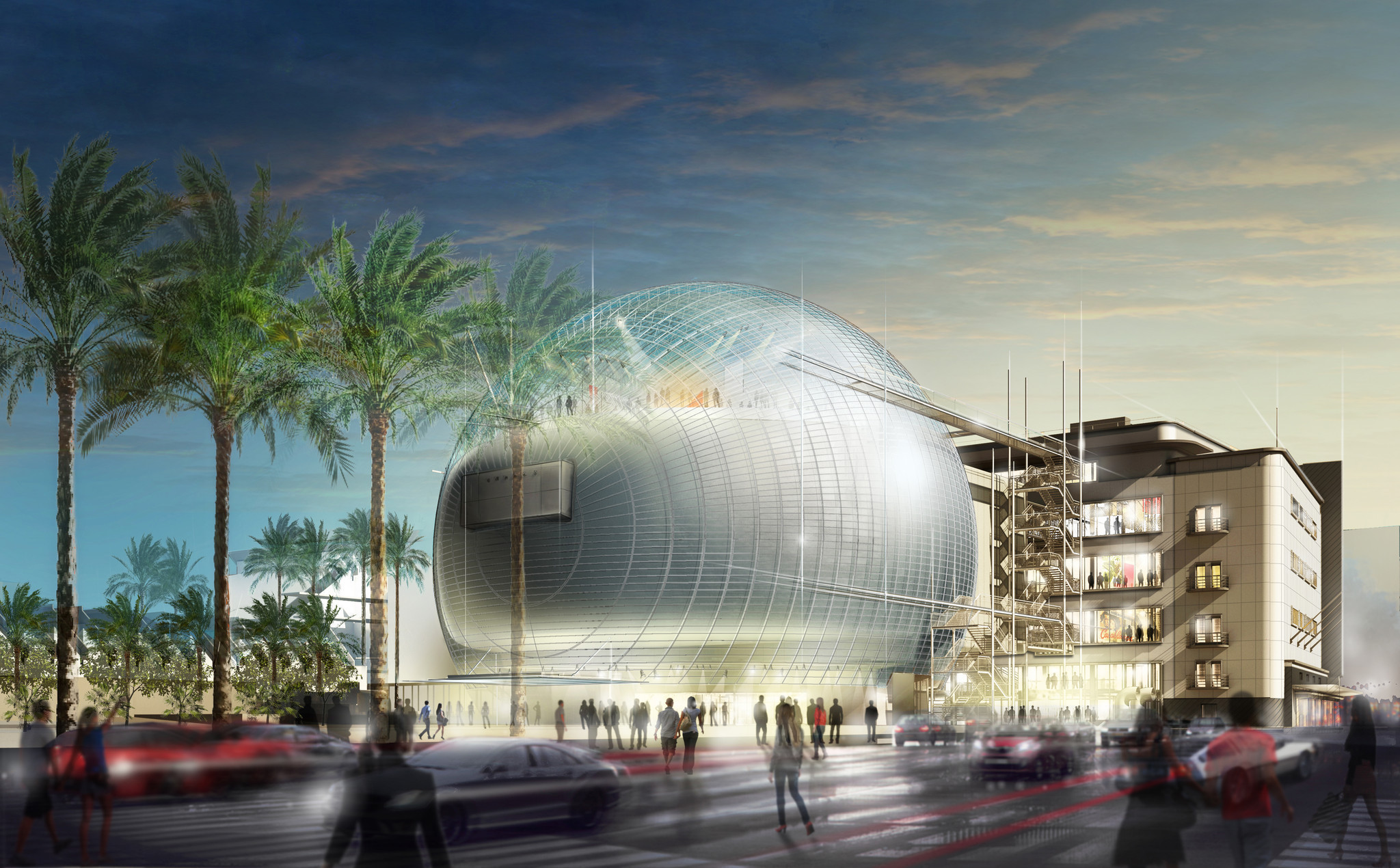 Lacma Sees The Big Picture As Academy Museum Moves In Next
