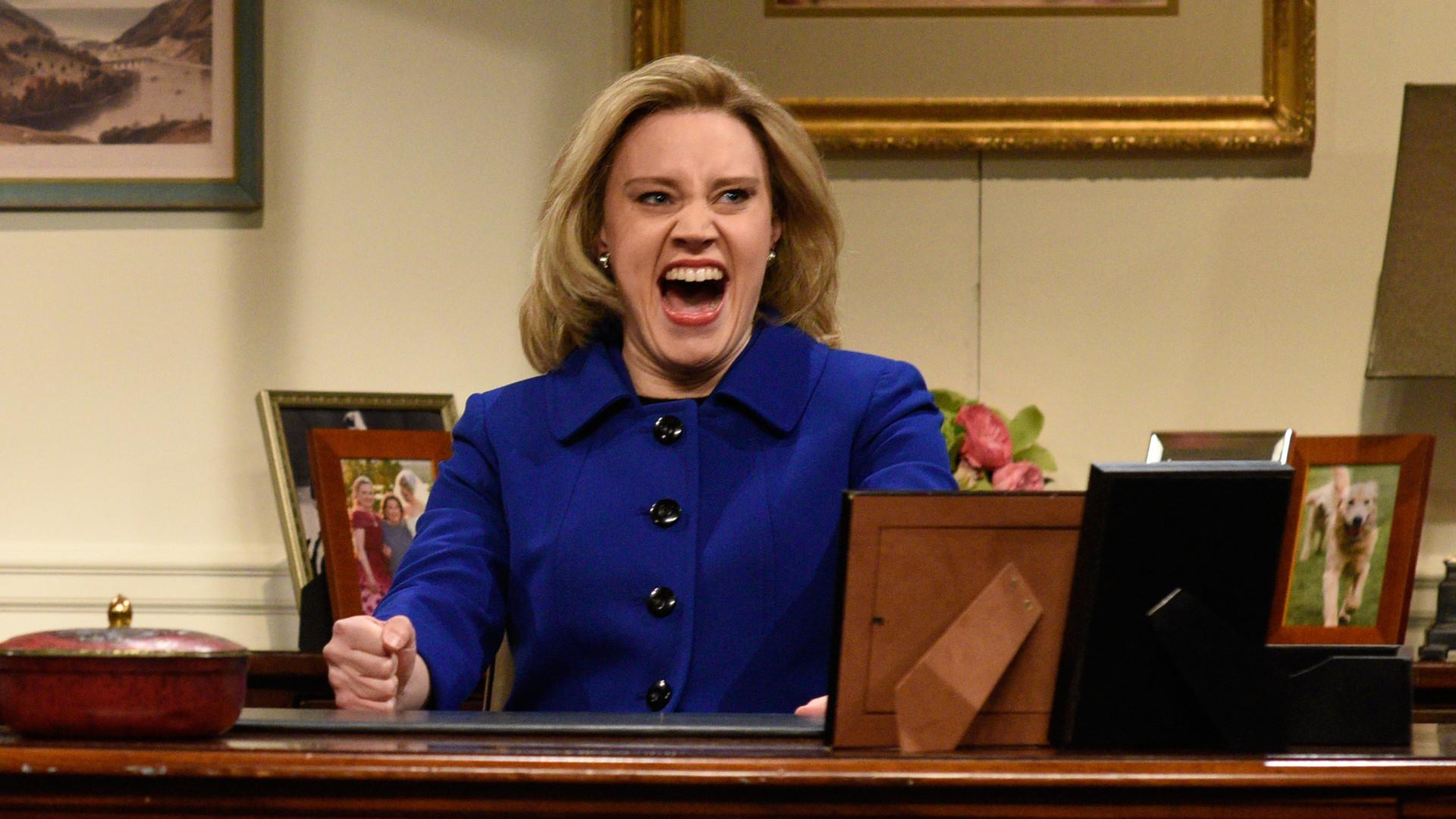 'SNL's' Kate McKinnon On Hillary Clinton: 'I Just Love Her