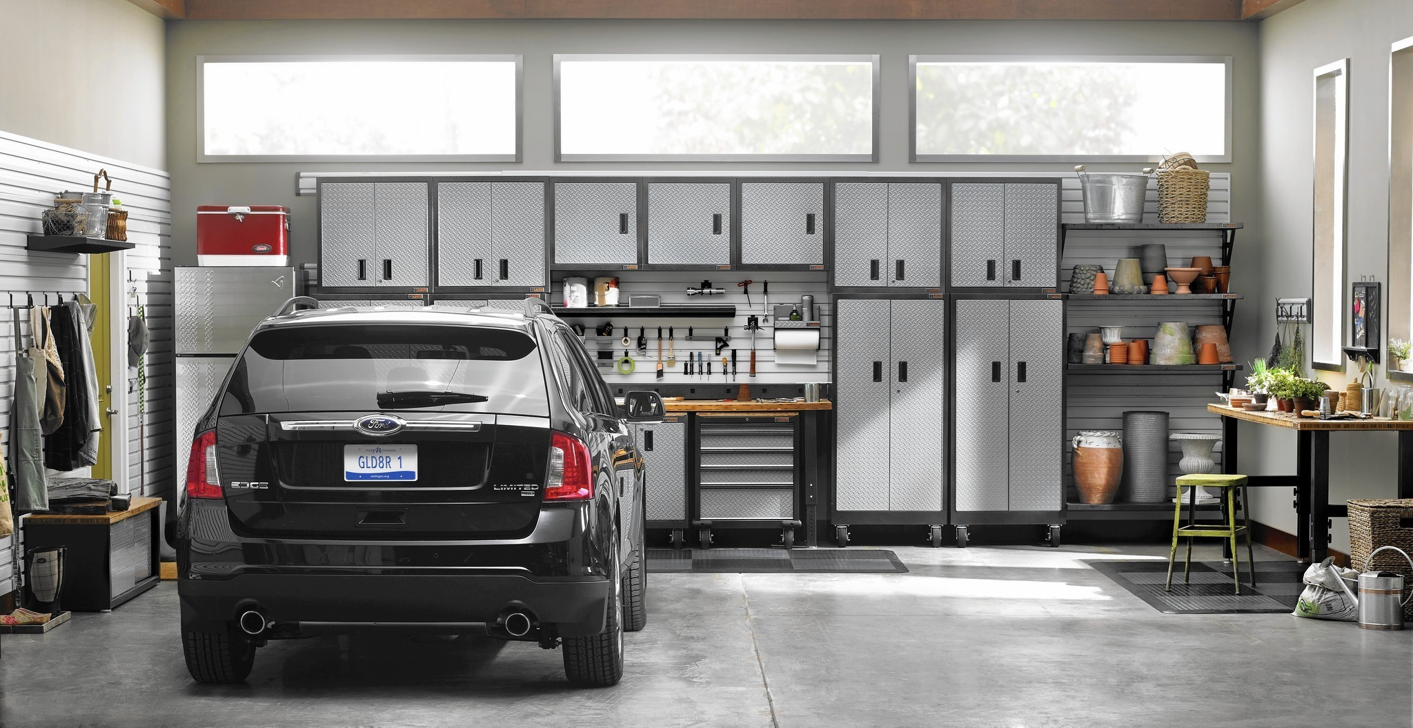 garage storage products that make every inch count - chicago tribune Storage Ideas for 1 Car Garage