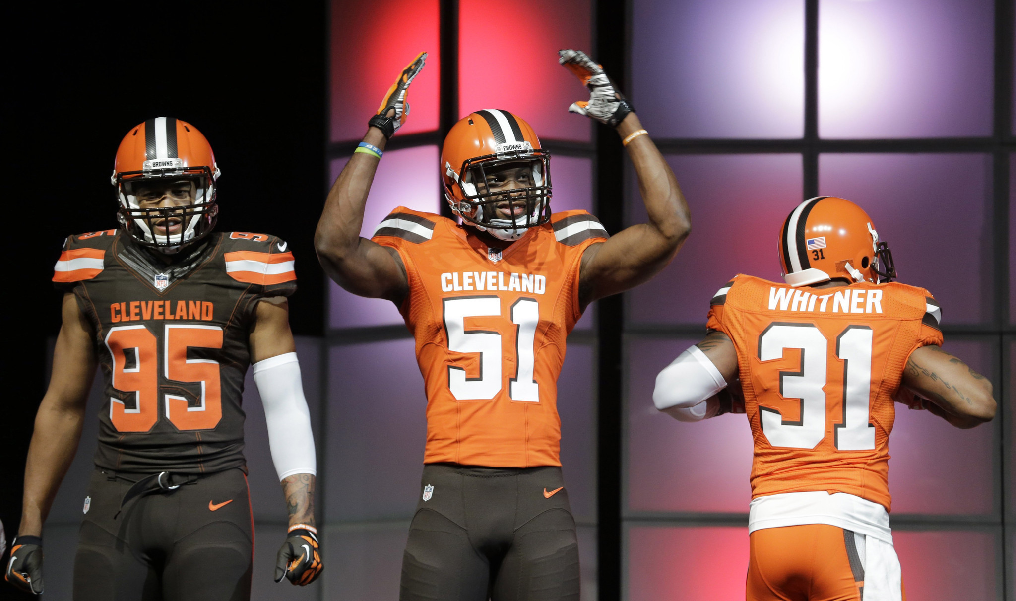 Cleveland Browns The Oregon Ducks Of NFL Thanks To New Uniforms