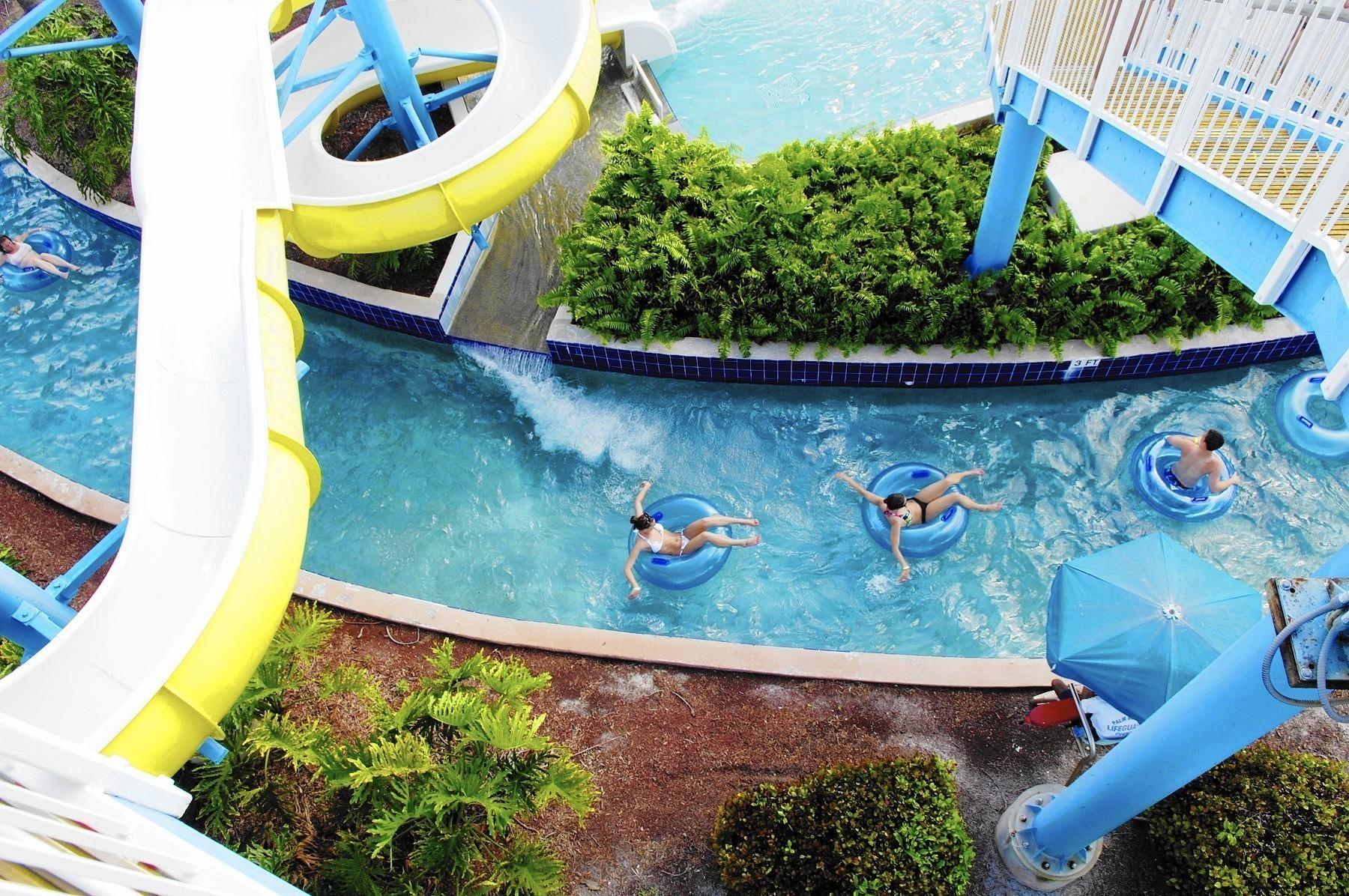 Parques De Agua De Florida Un Manantial Del Diversion El Sentinel